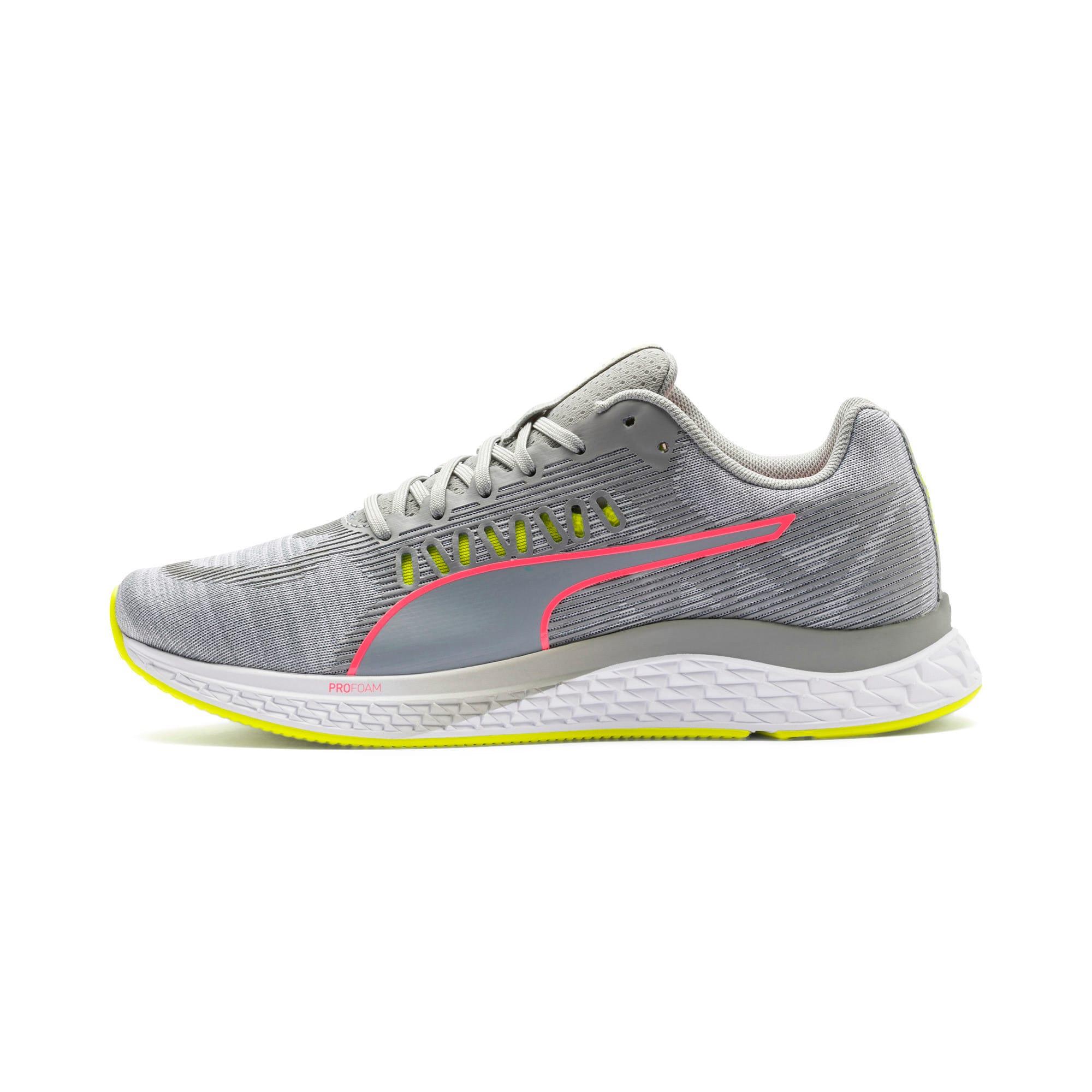 Thumbnail 1 van Speed Sutamina hardloopschoenen voor vrouwen, Quarry-Yellow Alert-roze, medium