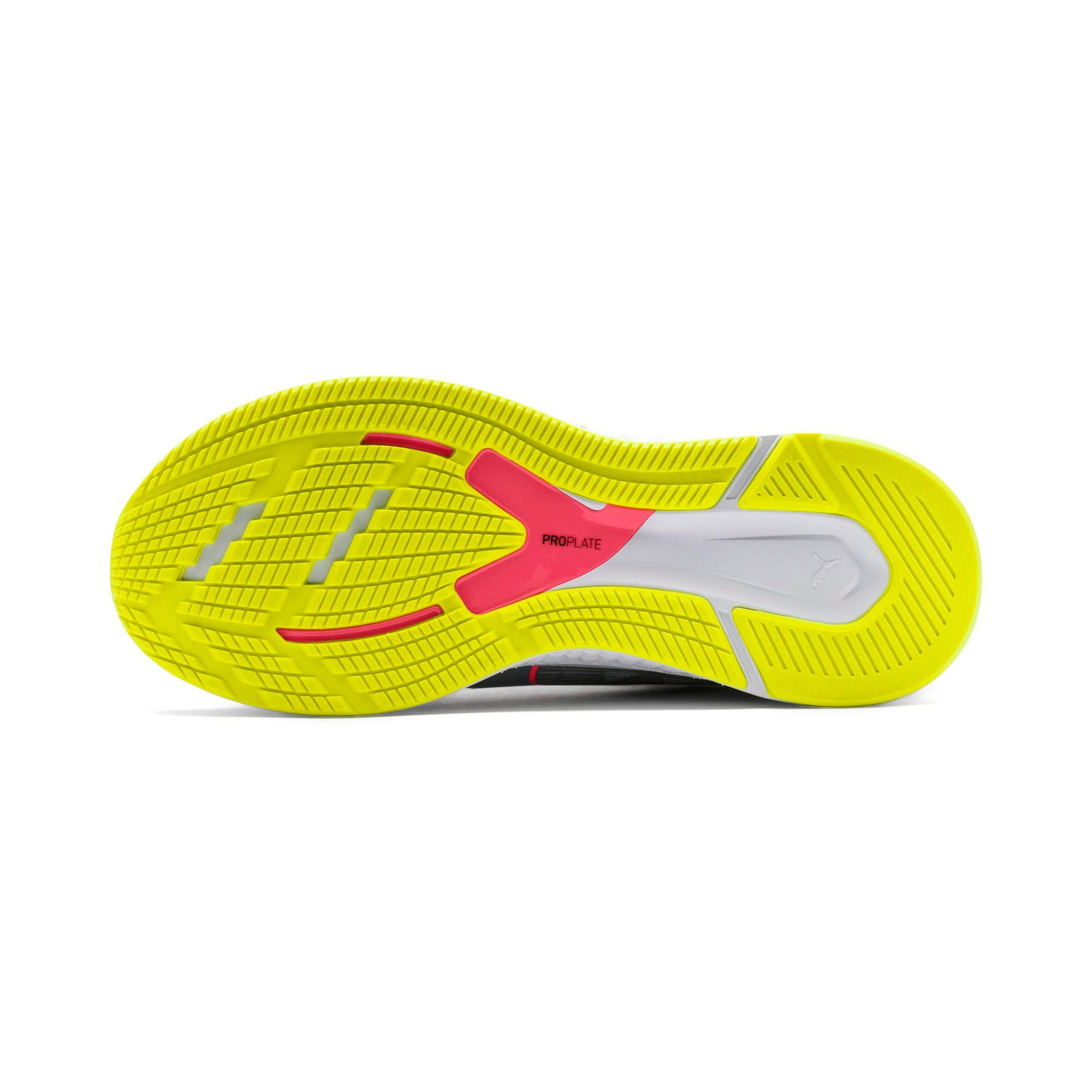 Thumbnail 5 van Speed Sutamina hardloopschoenen voor vrouwen, Quarry-Yellow Alert-roze, medium