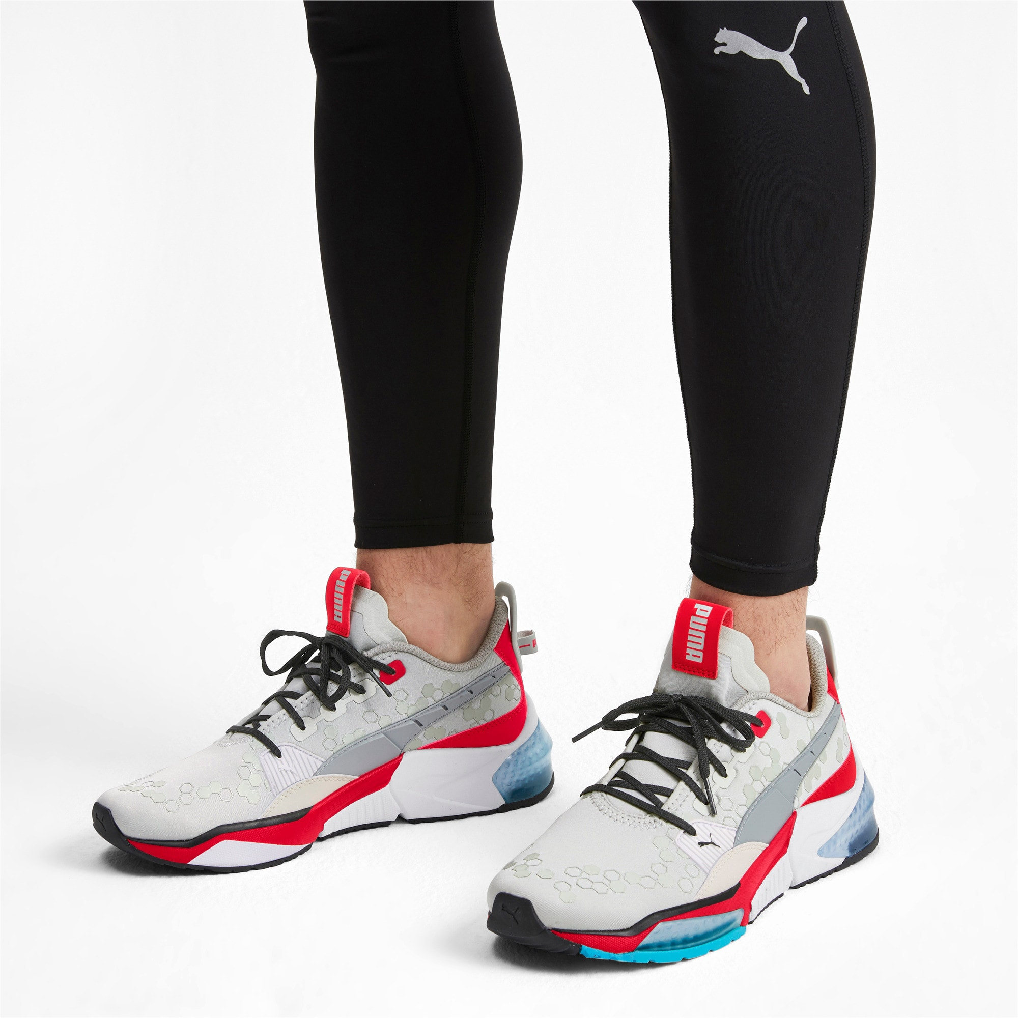 Thumbnail 2 of LQDCELL Optic Training Shoes, High Rise-High Risk Red, medium