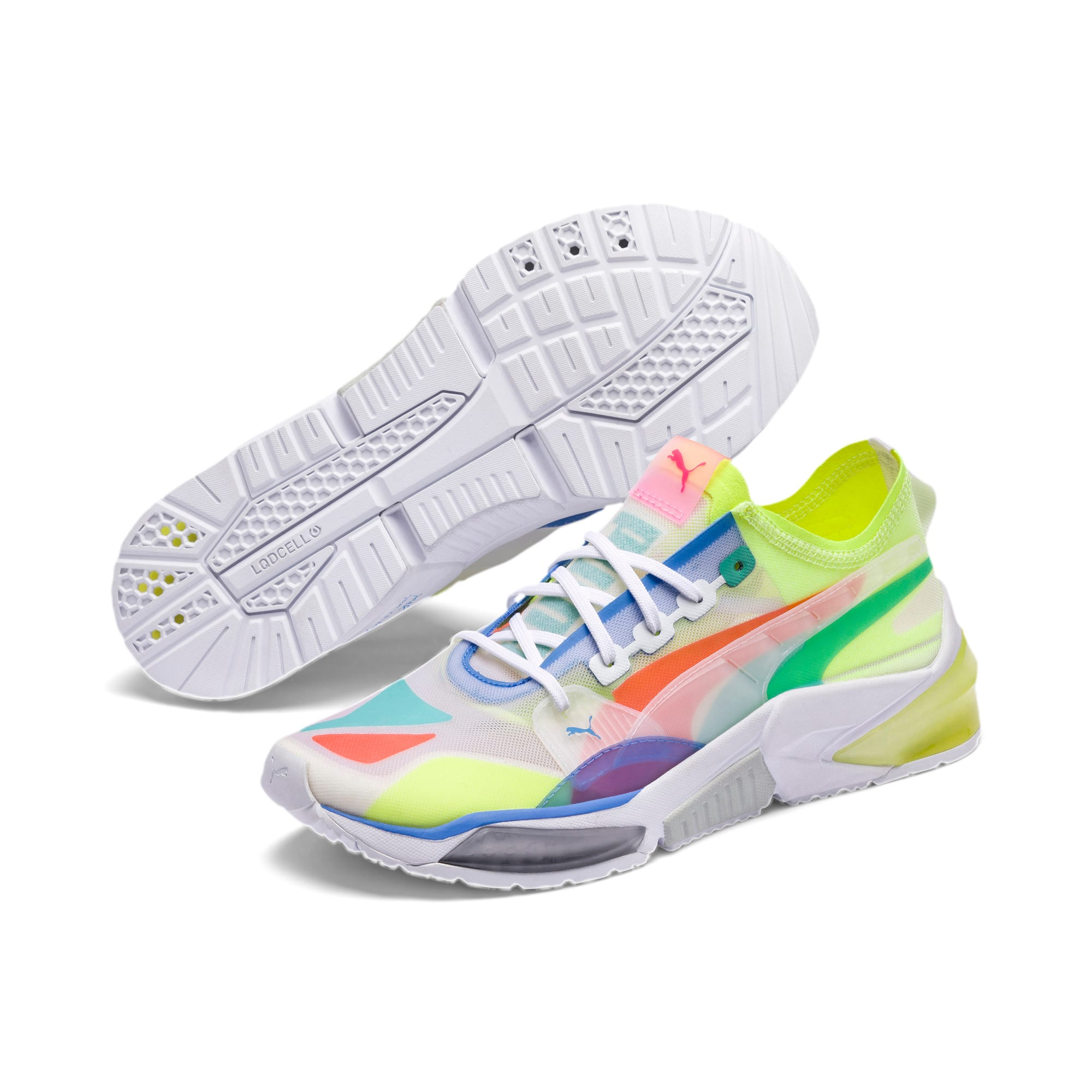 Thumbnail 3 van LQDCELL Optic Sheer trainingsschoenen, Puma White, medium