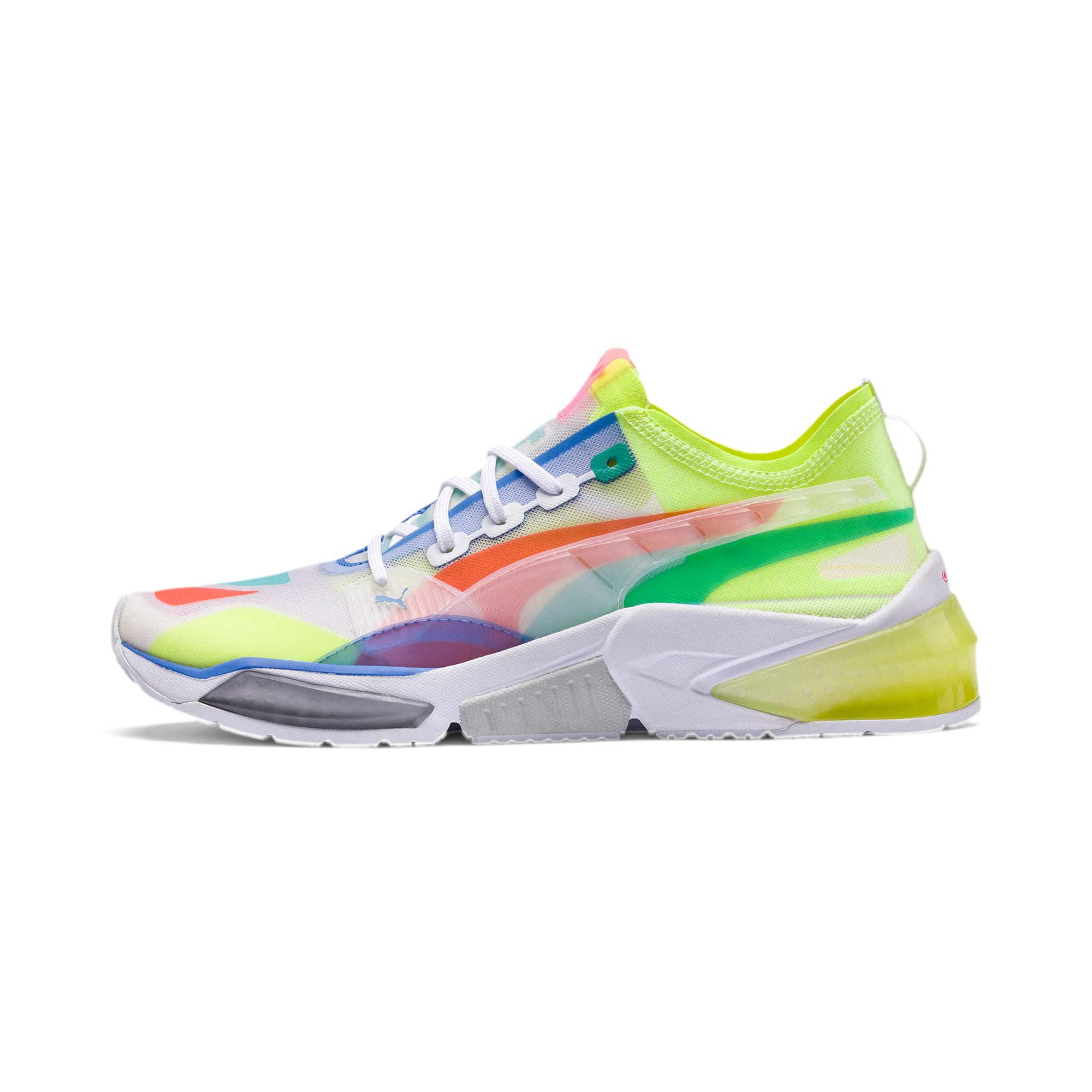 Thumbnail 1 of LQDCELL Optic Sheer Training Shoes, Puma White, medium-IND