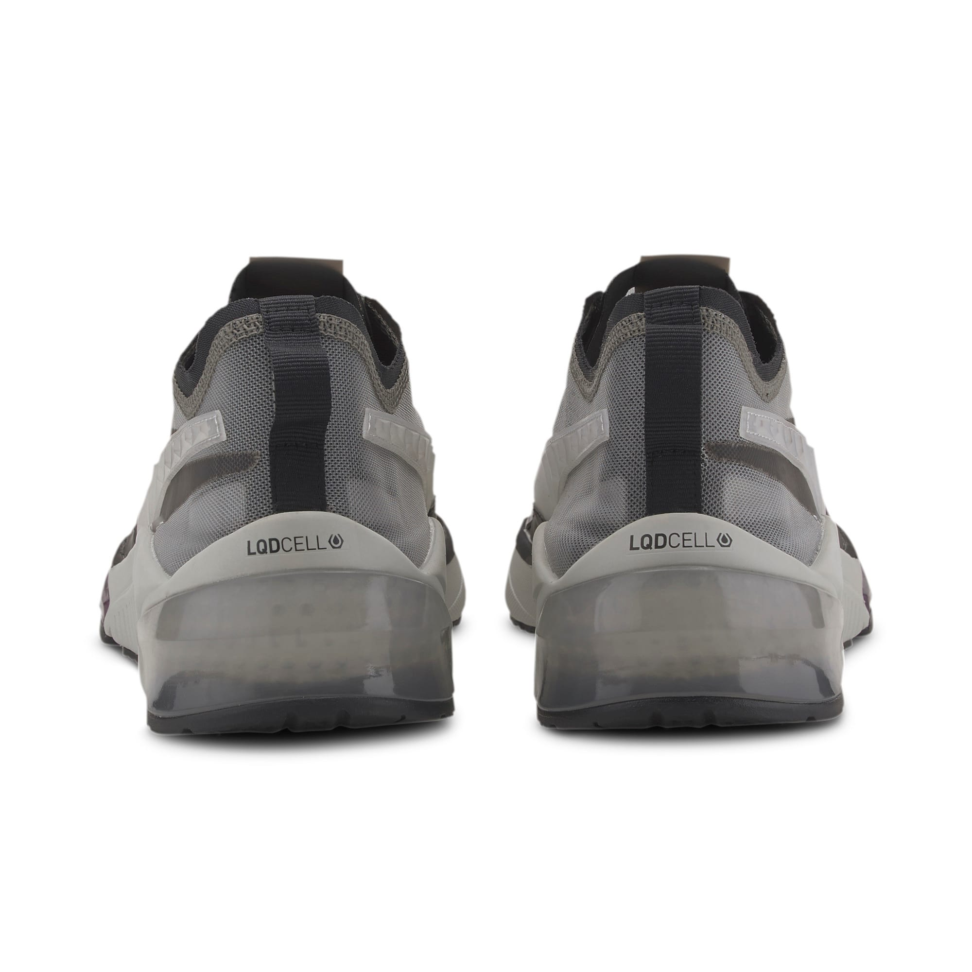 Thumbnail 3 of LQDCELL Optic Sheer Training Shoes, Gray Violet-Puma Black, medium