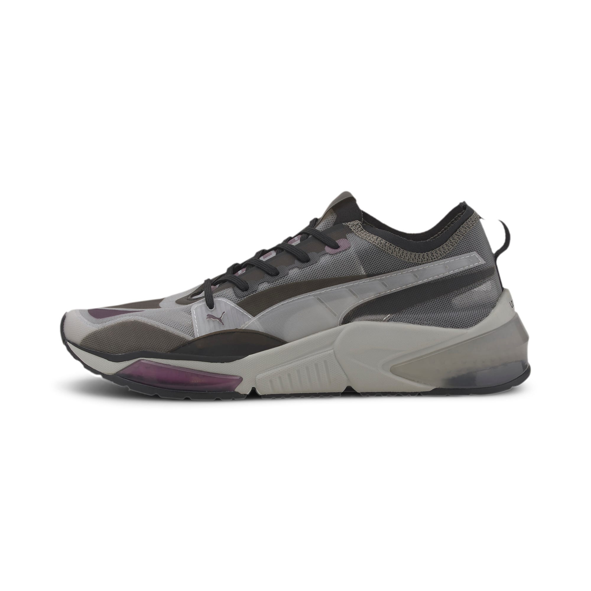 Thumbnail 1 of LQDCELL Optic Sheer Training Shoes, Gray Violet-Puma Black, medium