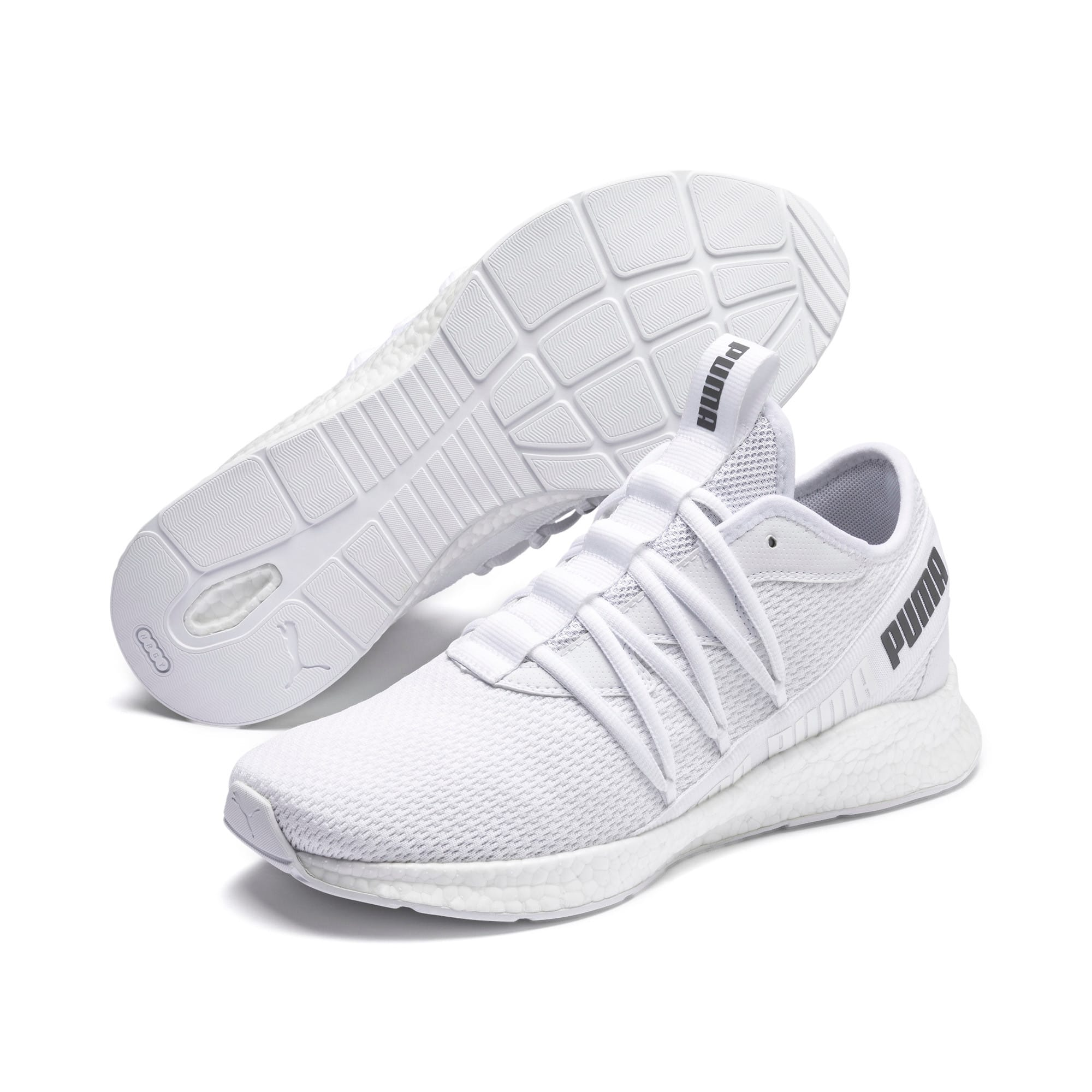 Thumbnail 2 of NRGY Star Running Shoes, Puma White-CASTLEROCK, medium