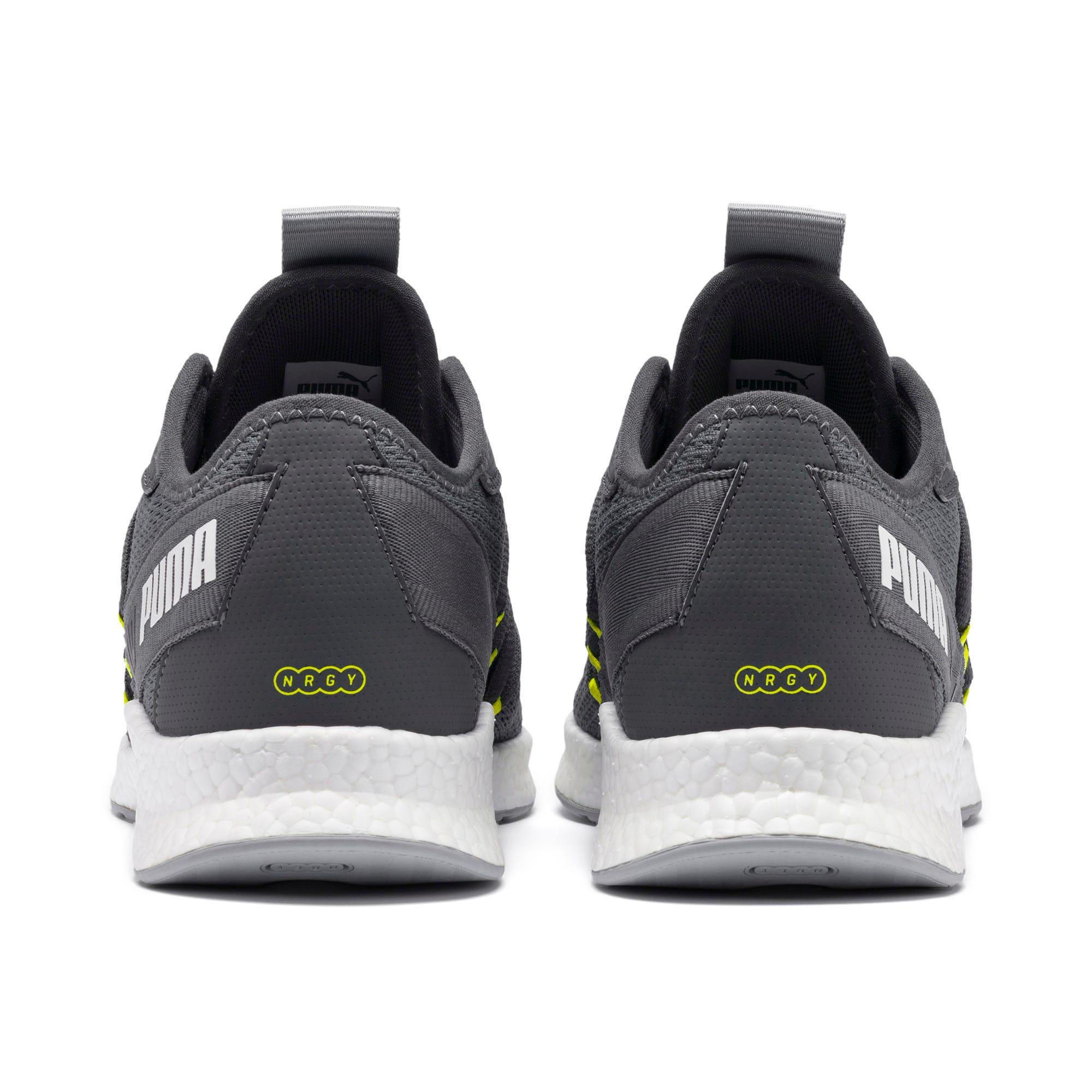 Thumbnail 4 of NRGY Star Running Shoes, CASTLEROCK-White-Yellow, medium