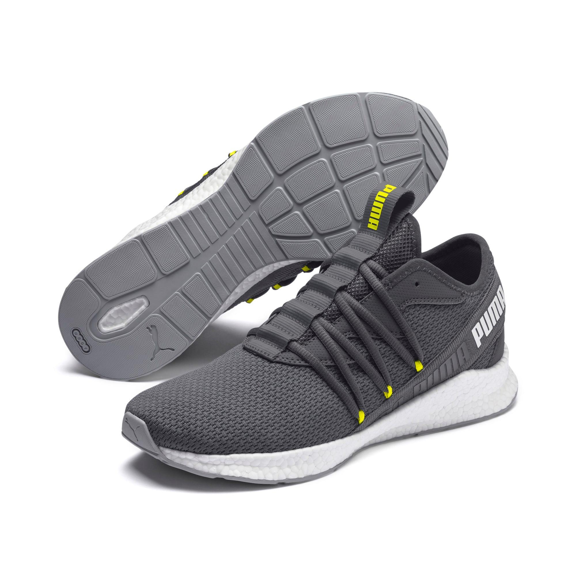 Thumbnail 3 of NRGY Star Running Shoes, CASTLEROCK-White-Yellow, medium