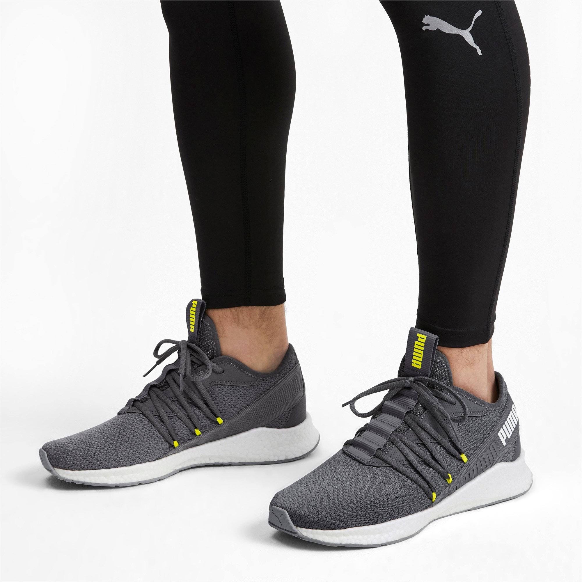 Thumbnail 2 of NRGY Star Running Shoes, CASTLEROCK-White-Yellow, medium