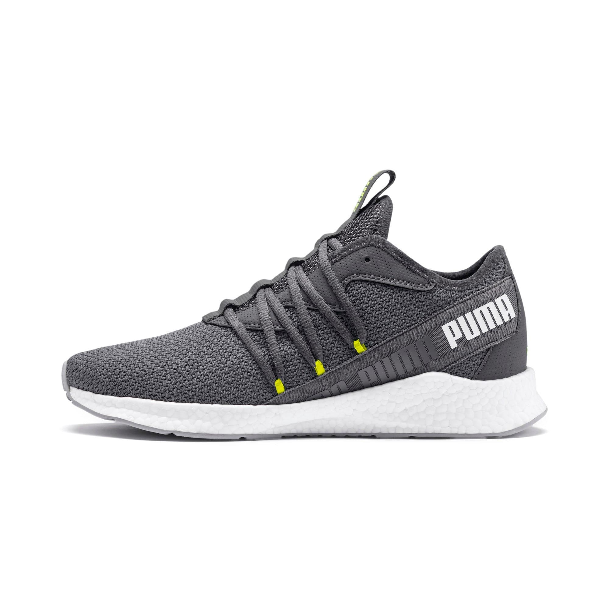 Thumbnail 1 of NRGY Star Running Shoes, CASTLEROCK-White-Yellow, medium