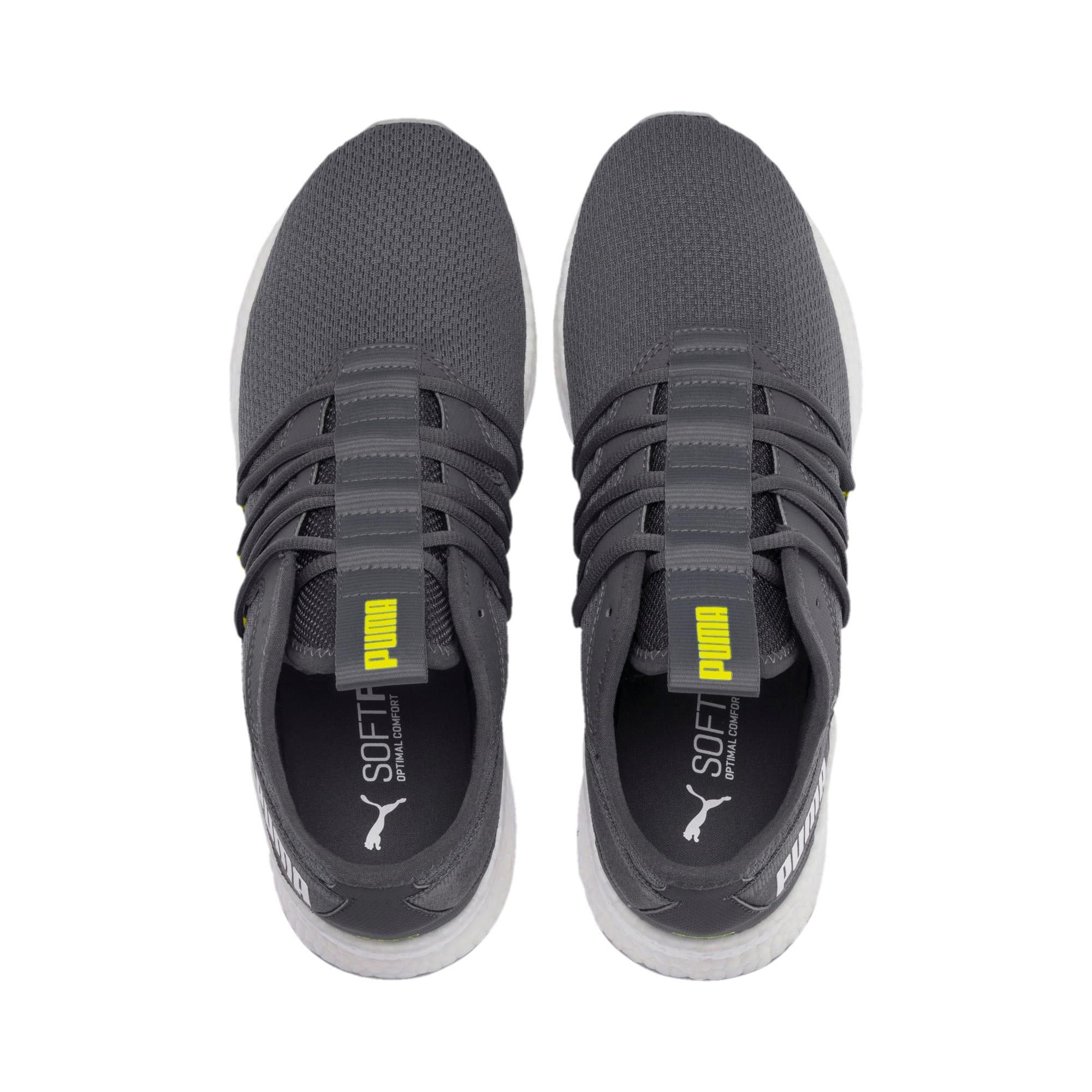 Thumbnail 7 of NRGY Star Running Shoes, CASTLEROCK-White-Yellow, medium