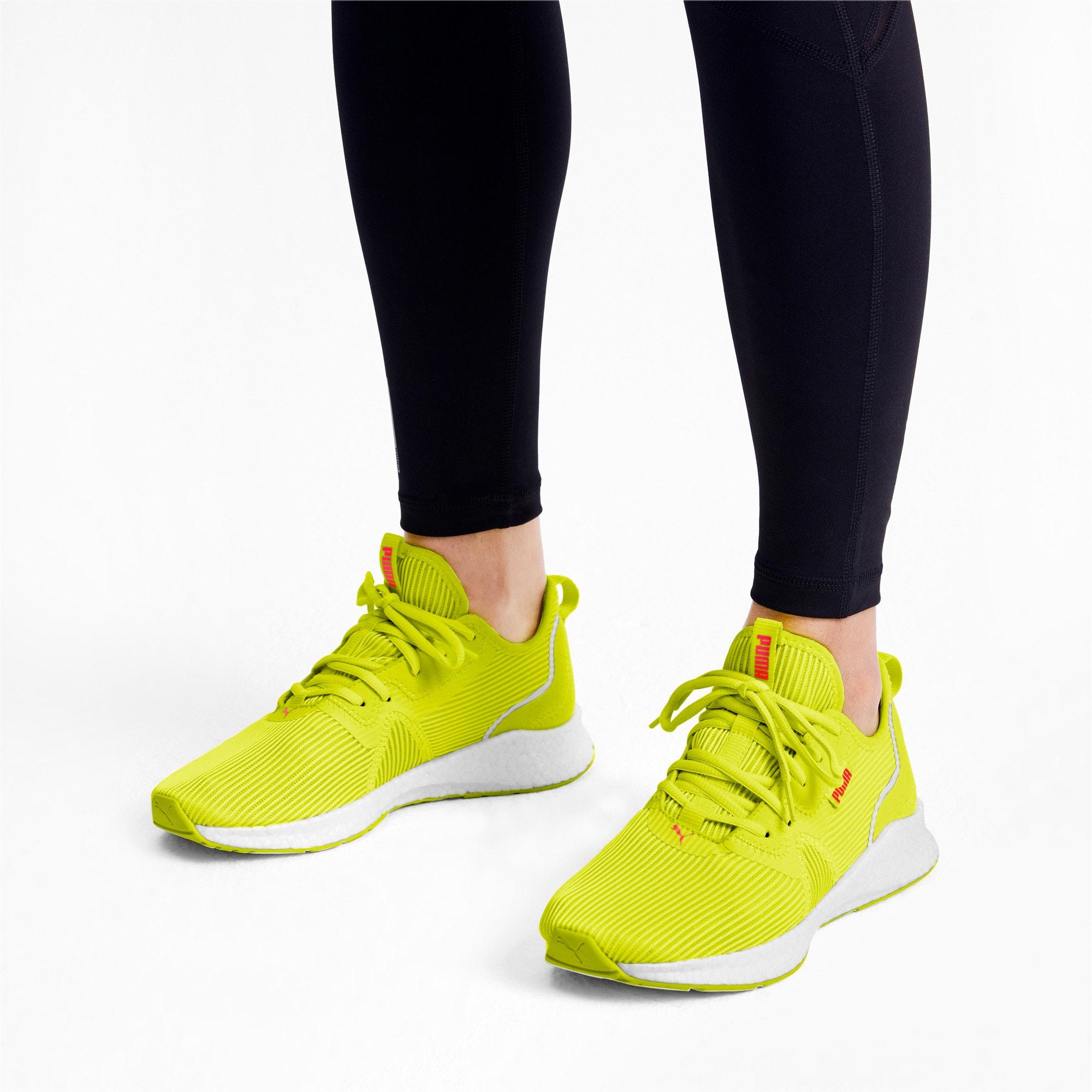 Miniatura 3 de Zapatos para correr NRGY Star Femme para mujer, Yellow Alert-Pink Alert, mediano