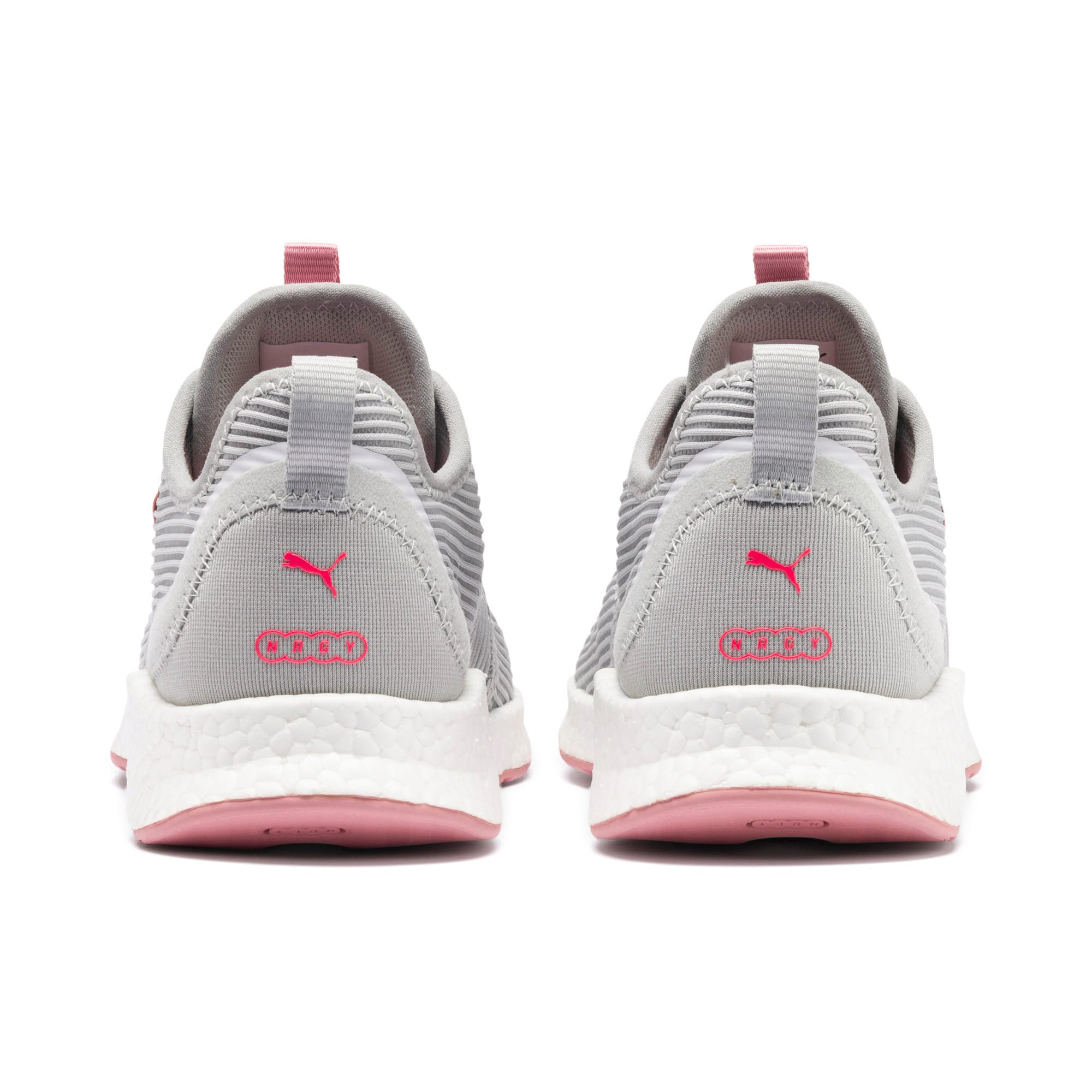 NRGY Star Femme Women's Running Shoes, Glacier Gray-Pink-White, large