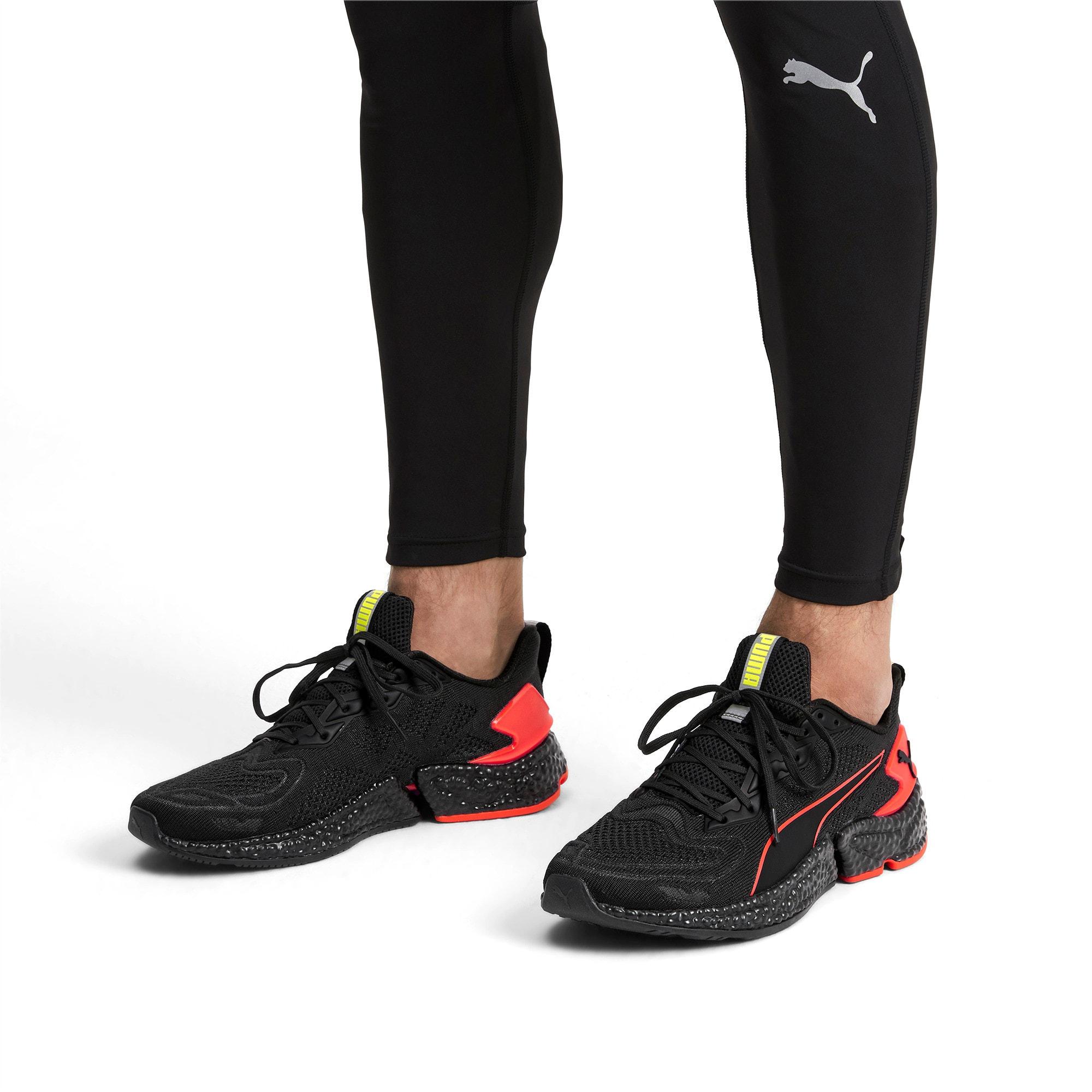 Thumbnail 2 of HYBRID SPEED Orbiter Men's Running Shoes, Black-Nrgy Red-Yellow, medium