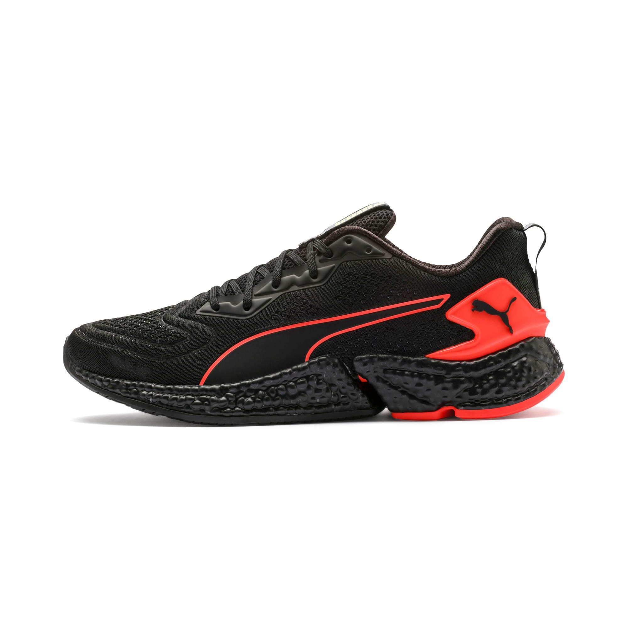 Thumbnail 1 of Chaussure de course HYBID SPEED Orbiter pour homme, Black-Nrgy Red-Yellow, medium