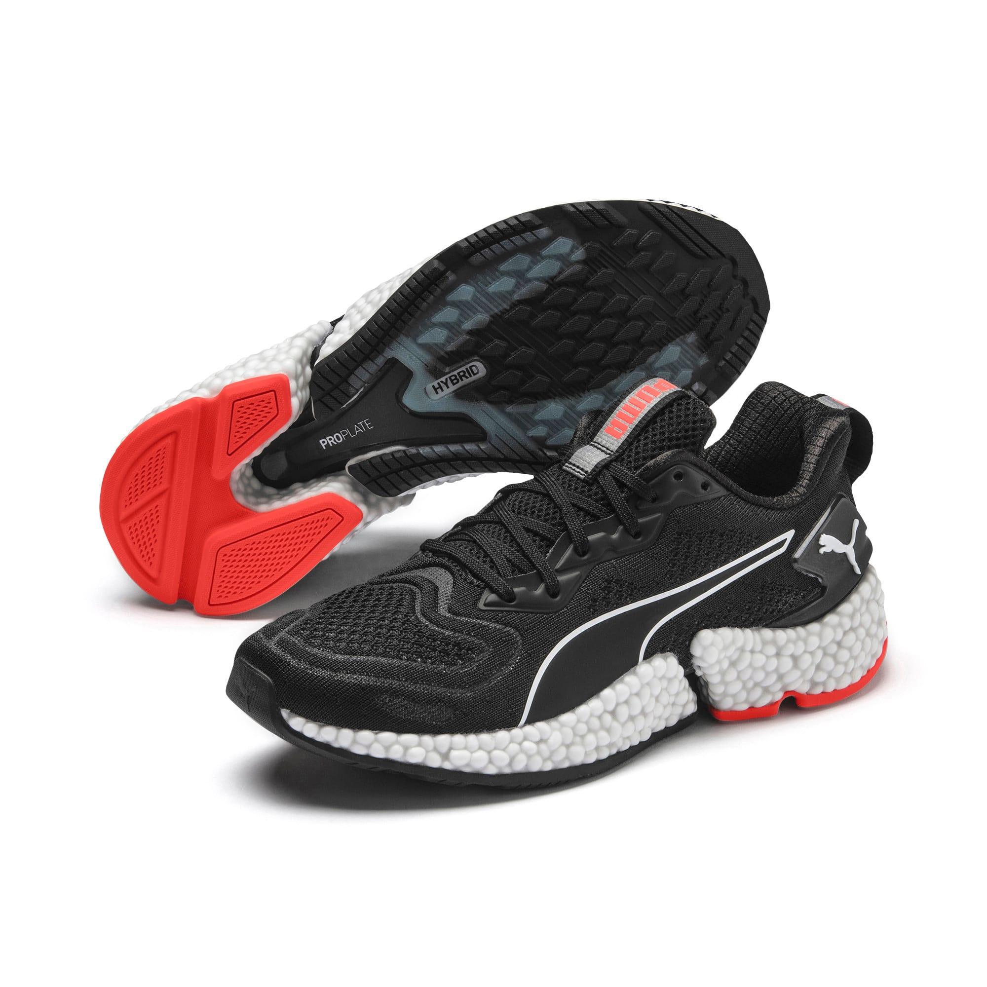 Thumbnail 3 of HYBRID SPEED Orbiter Women's Running Shoes, Black-Red-Milky Blue-White, medium