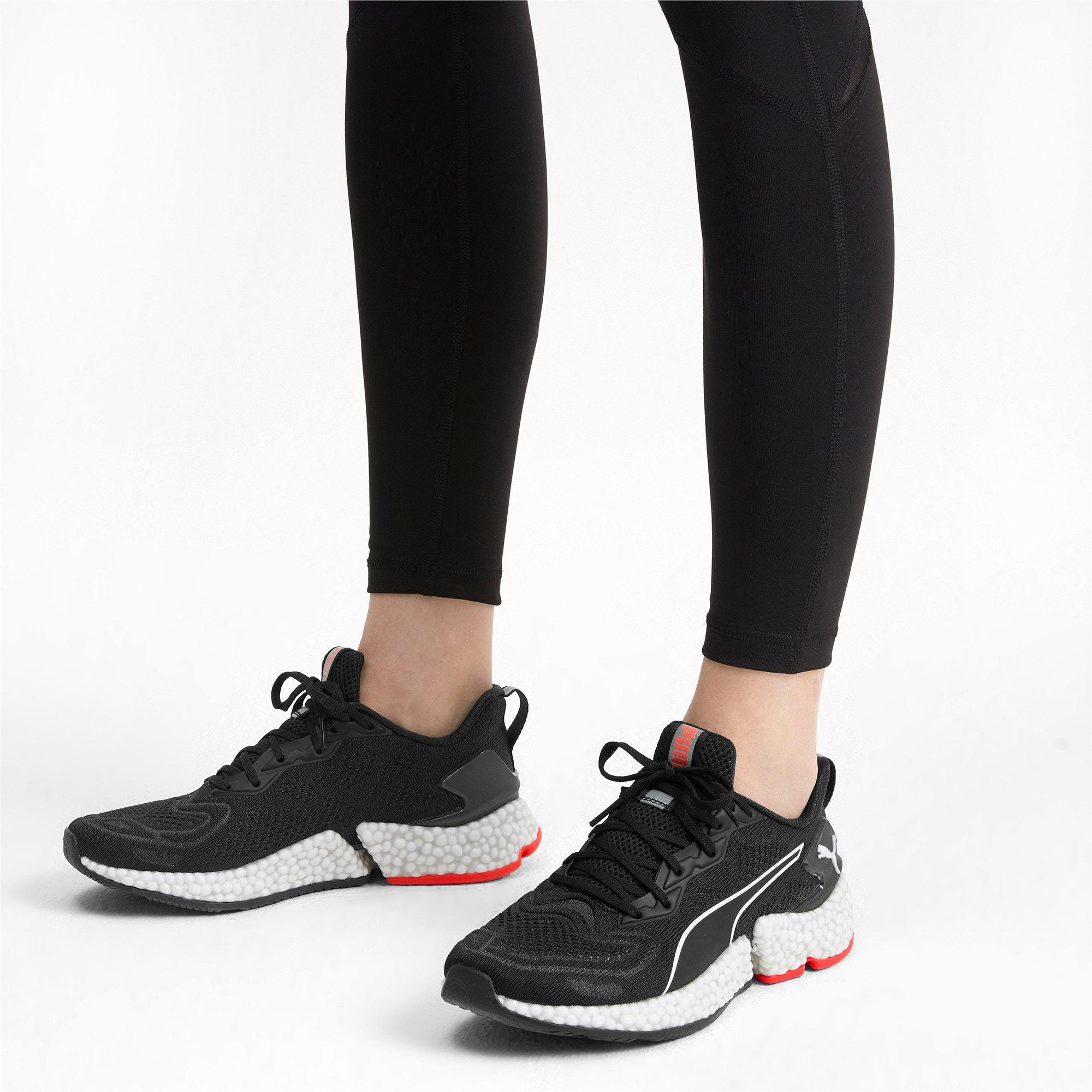 Thumbnail 2 of HYBRID SPEED Orbiter Women's Running Shoes, Black-Red-Milky Blue-White, medium