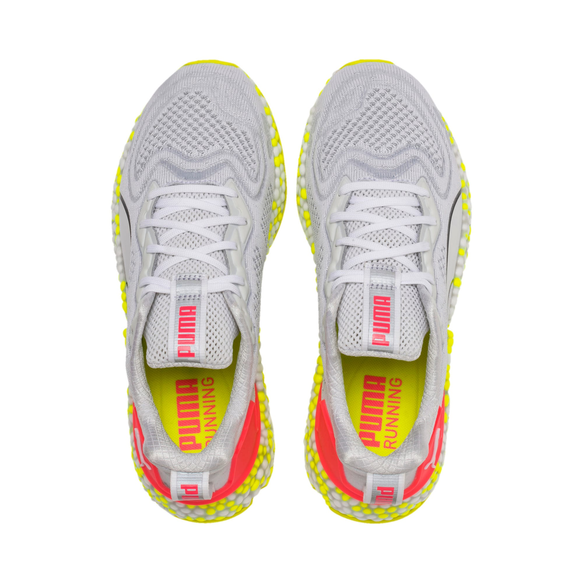Thumbnail 7 of SPEED Orbiter Women's Running Shoes, Puma White-Yellow Alert, medium