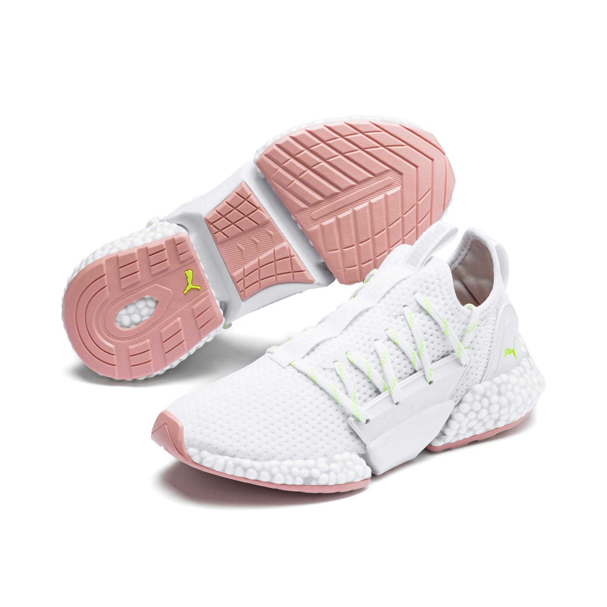Thumbnail 2 of HYBRID Rocket Aero Women's Running Shoes, Puma White-Bridal Rose, medium