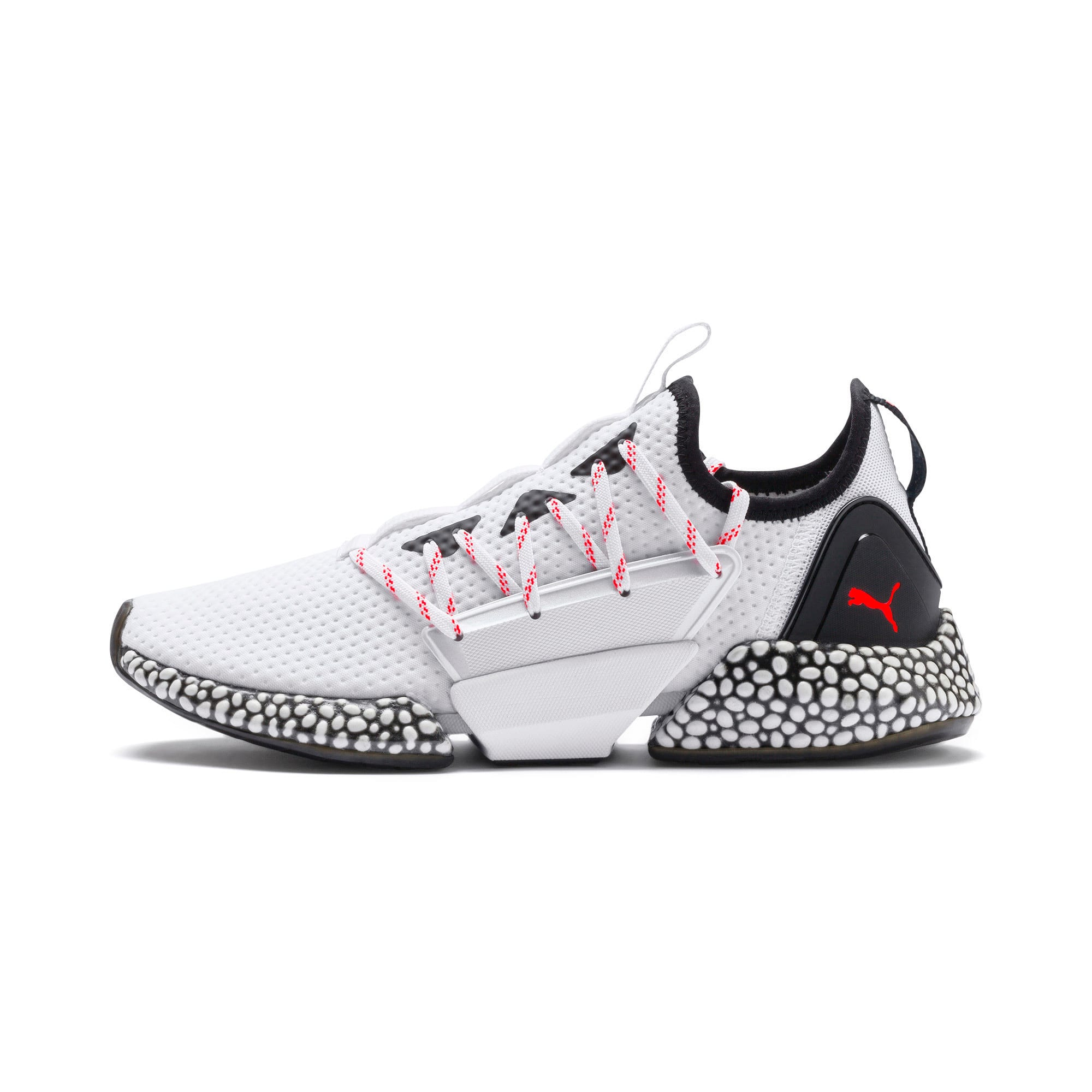 Thumbnail 1 of HYBRID Rocket Aero Men's Running Shoes, Puma White-Puma Black, medium