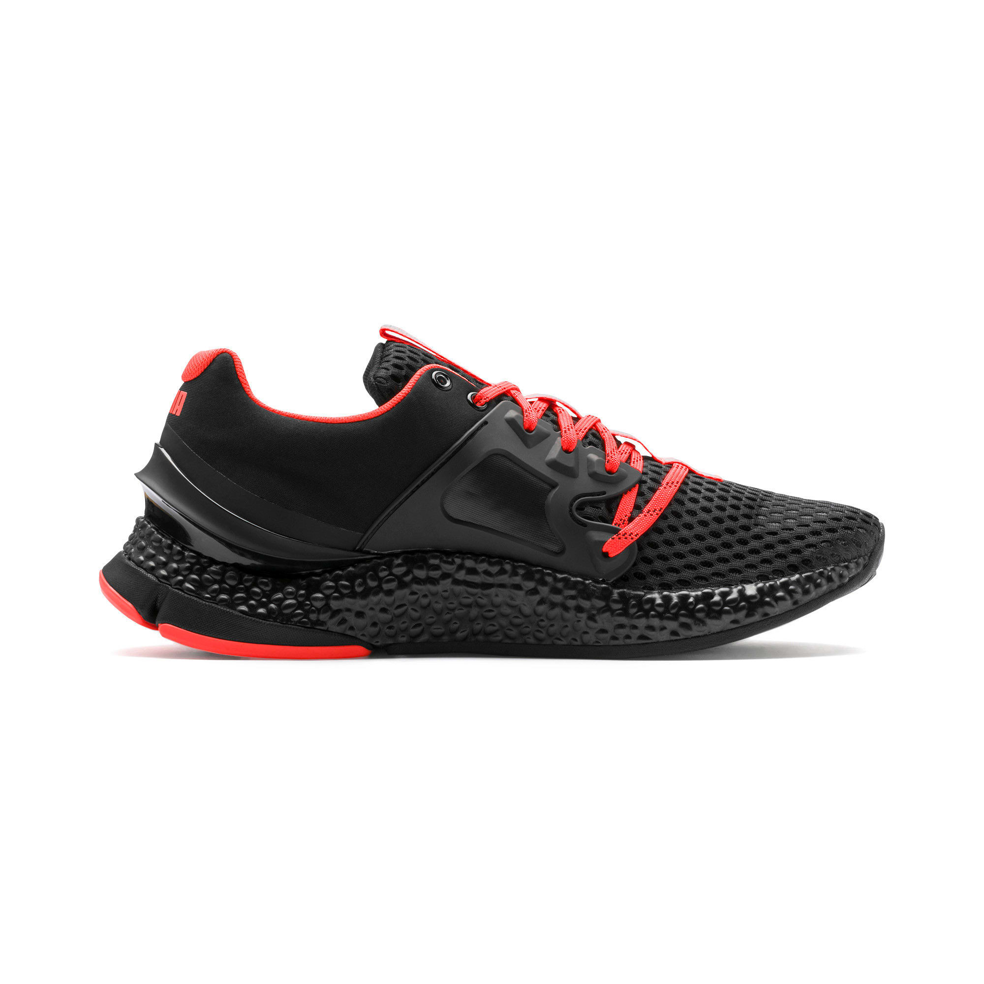 Thumbnail 6 of HYBRID Sky Men's Running Shoes, Black-White-Nrgy Red, medium