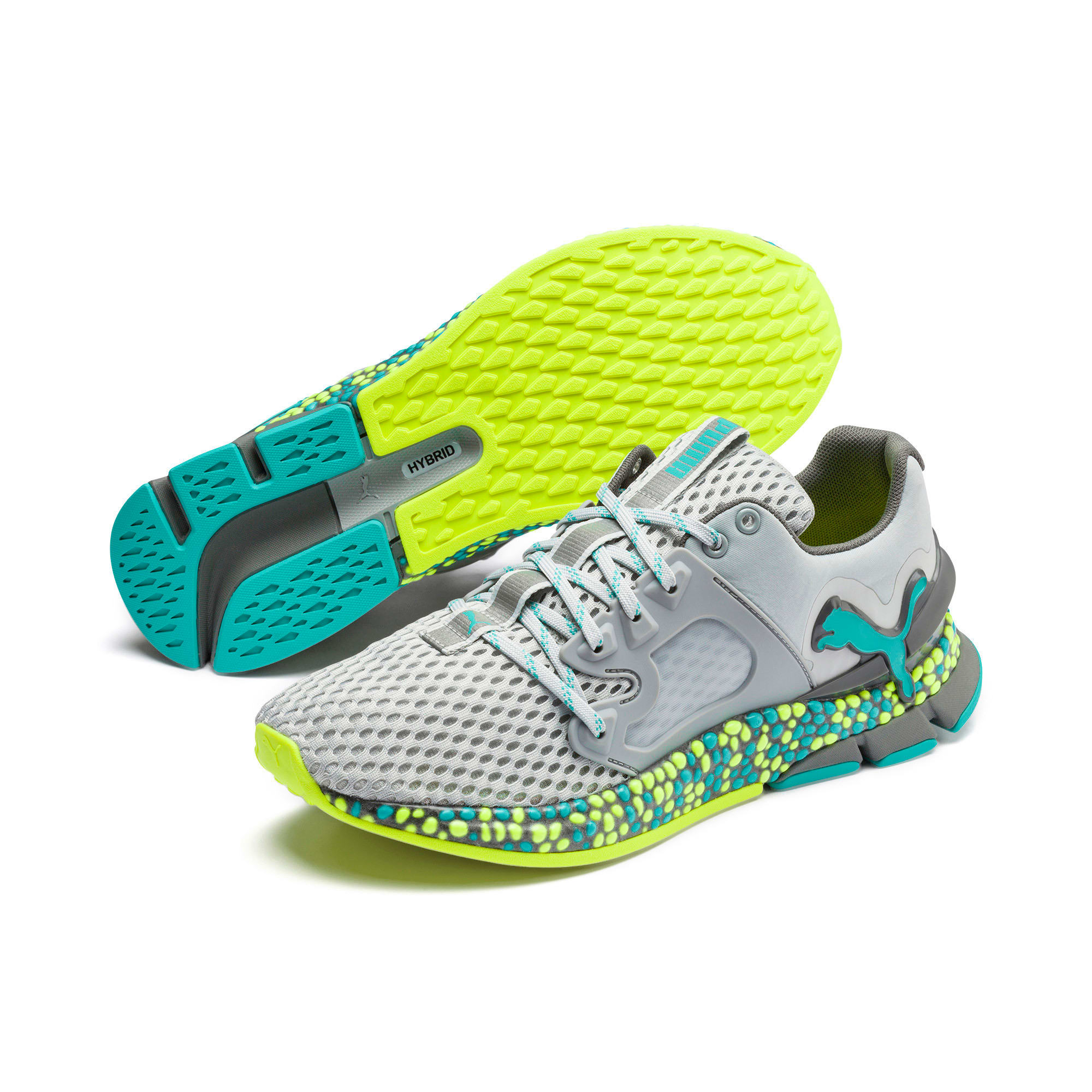 Thumbnail 4 of HYBRID Sky Men's Running Shoes, High Rise-Blue Turquoise, medium-IND