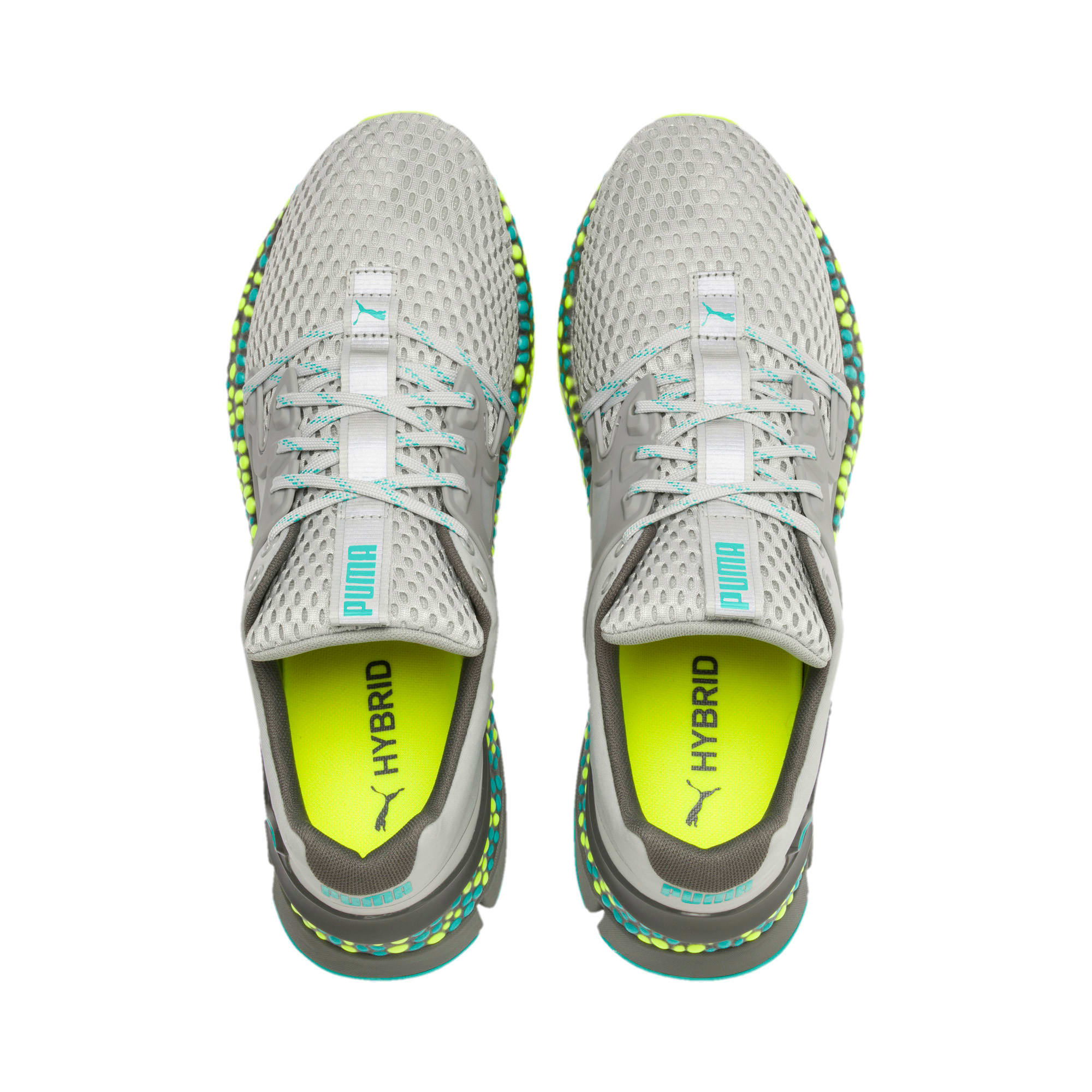 Thumbnail 8 of HYBRID Sky Men's Running Shoes, High Rise-Blue Turquoise, medium-IND
