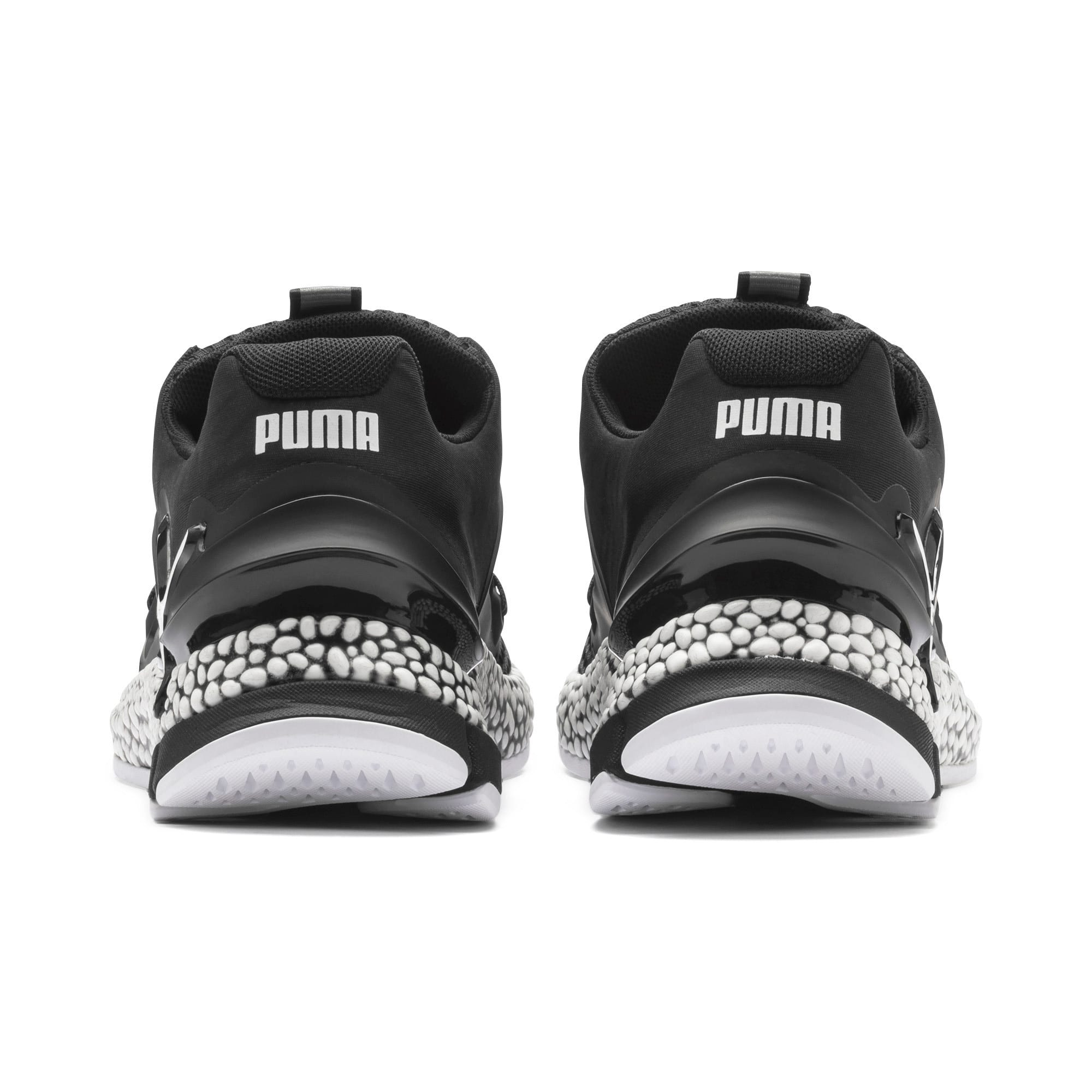 Thumbnail 4 of HYBRID Sky Men's Running Shoes, Puma Black-Puma White, medium