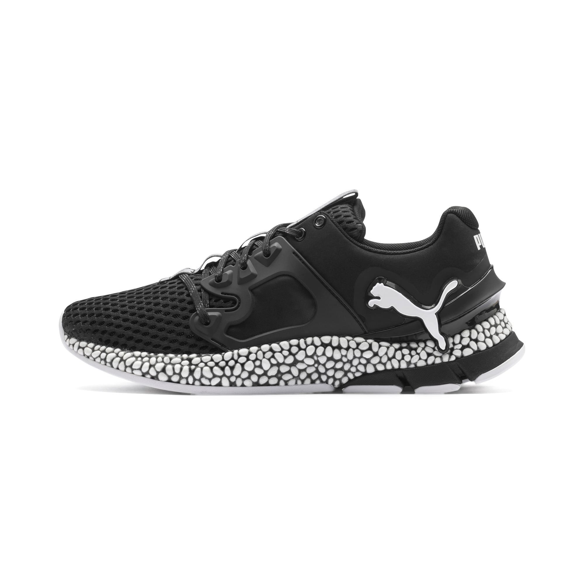 Thumbnail 1 of HYBRID Sky Men's Running Shoes, Puma Black-Puma White, medium