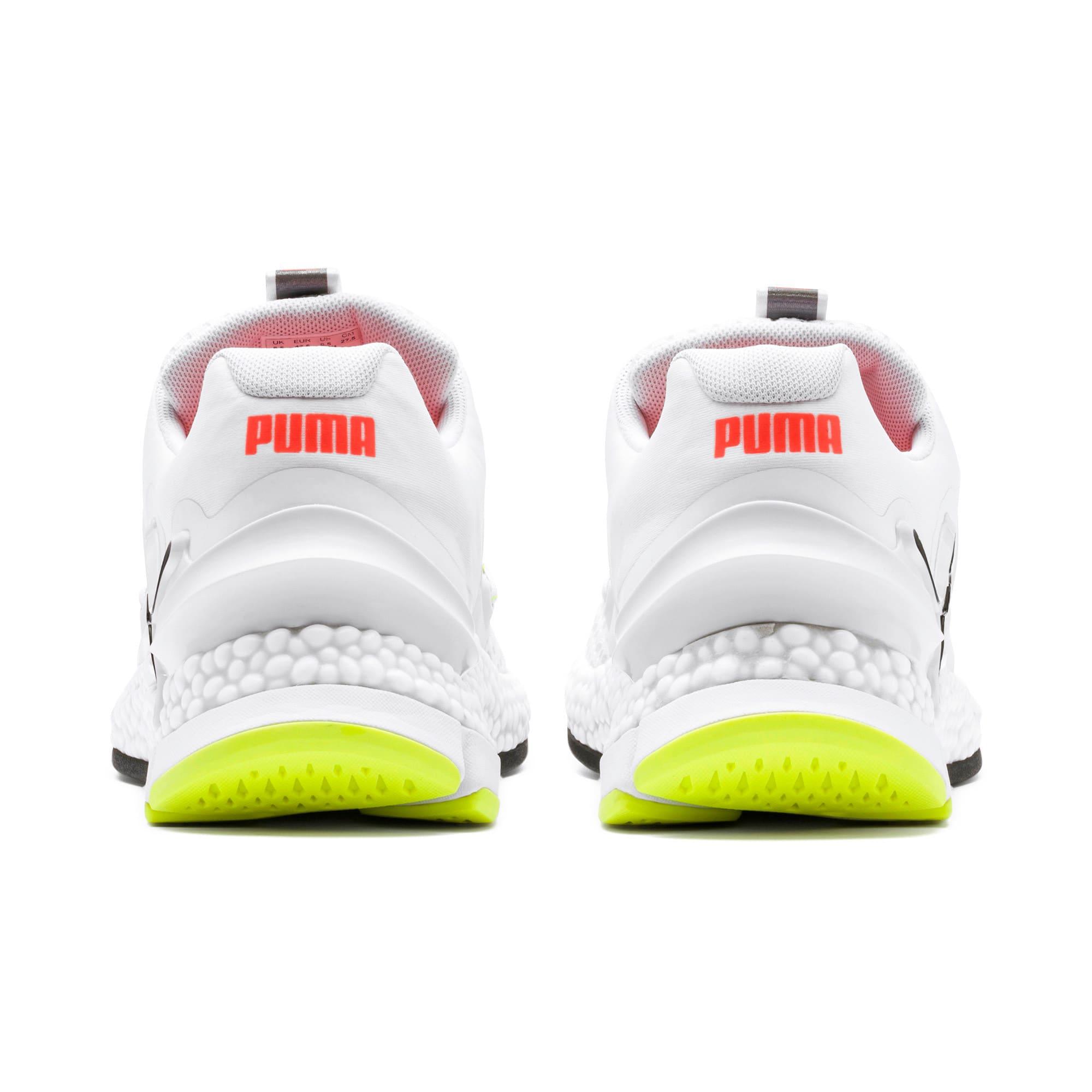 Thumbnail 4 of HYBRID Sky Men's Running Shoes, White-Black-Nrgy Red, medium