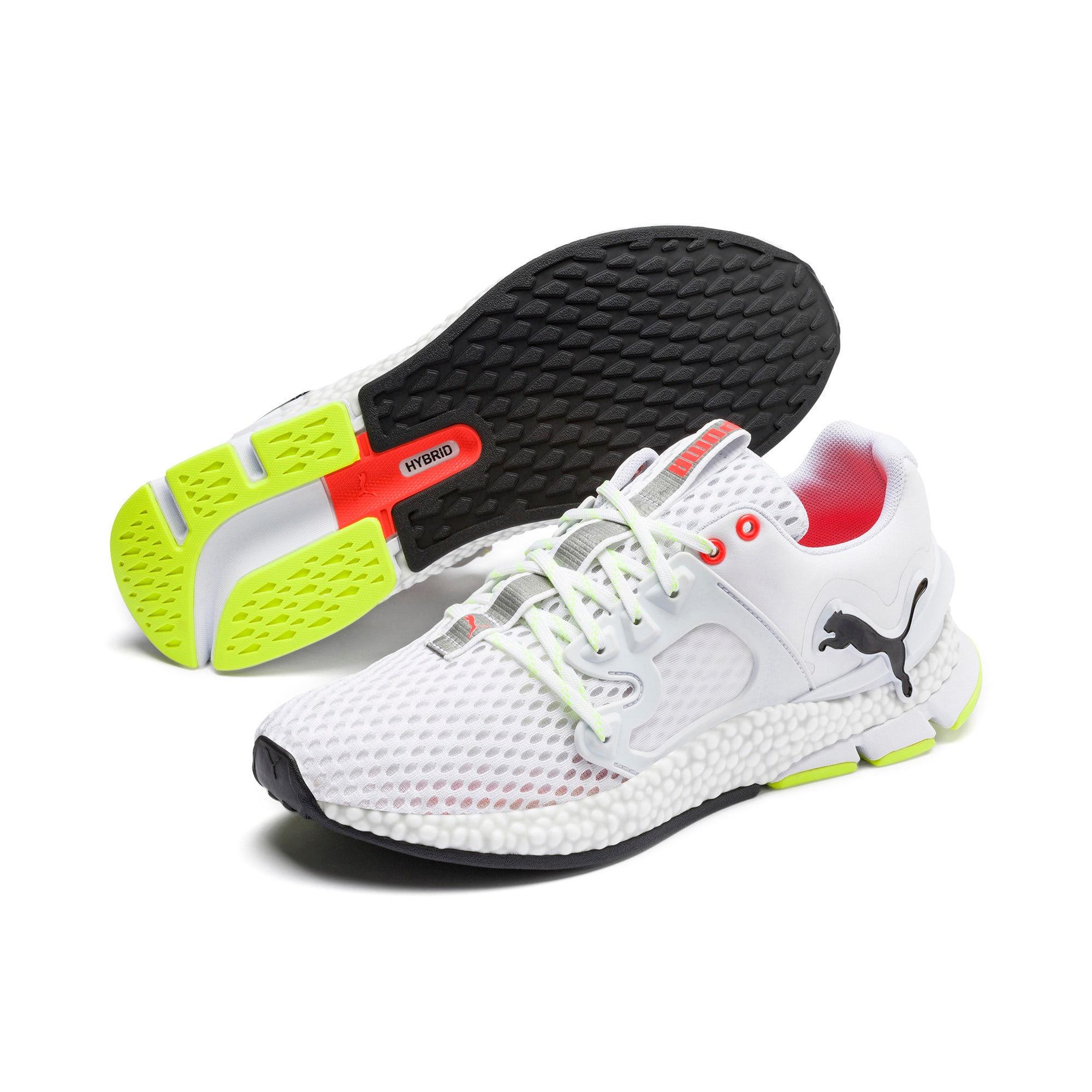 Thumbnail 3 of HYBRID Sky Men's Running Shoes, White-Black-Nrgy Red, medium