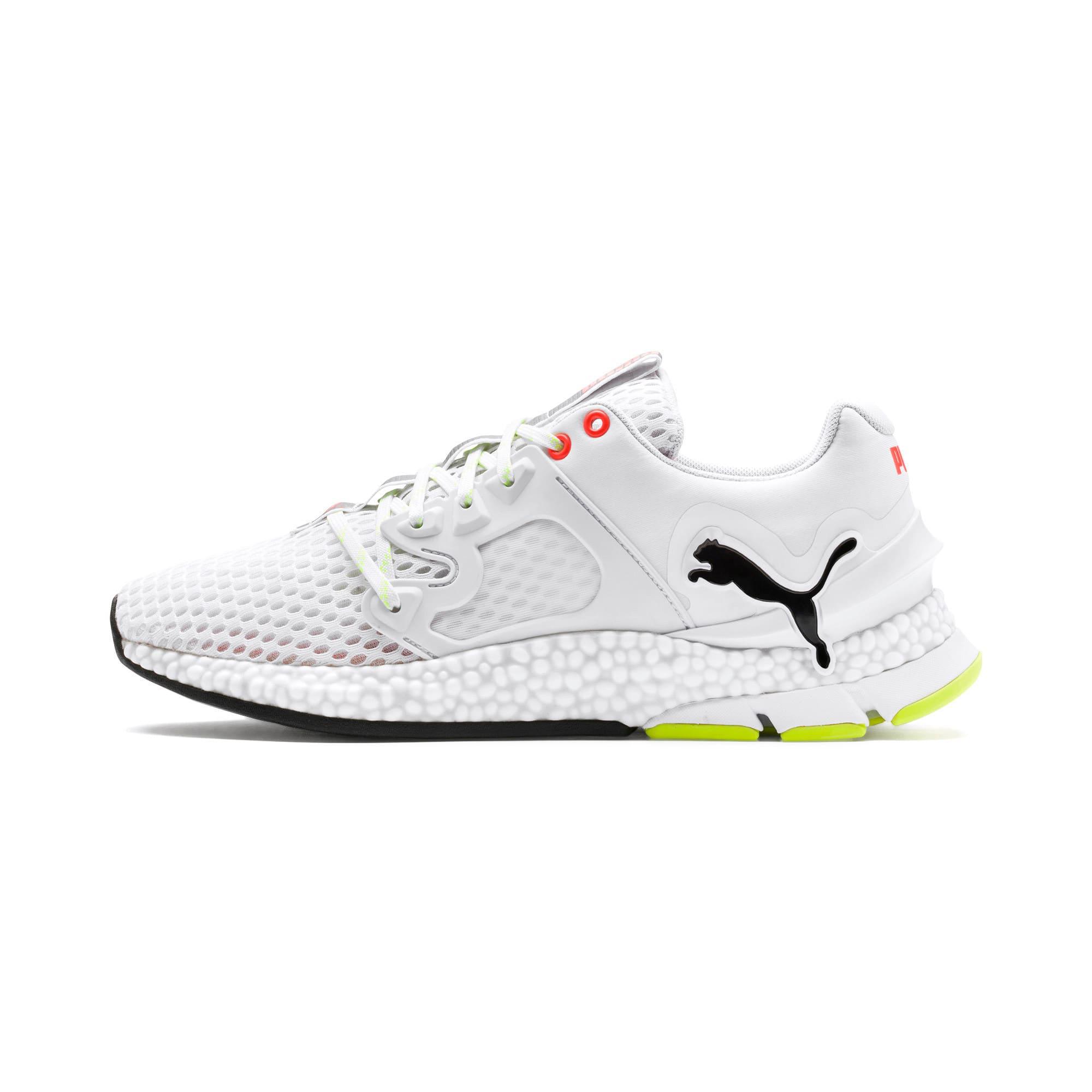 Thumbnail 1 of HYBRID Sky Men's Running Shoes, White-Black-Nrgy Red, medium