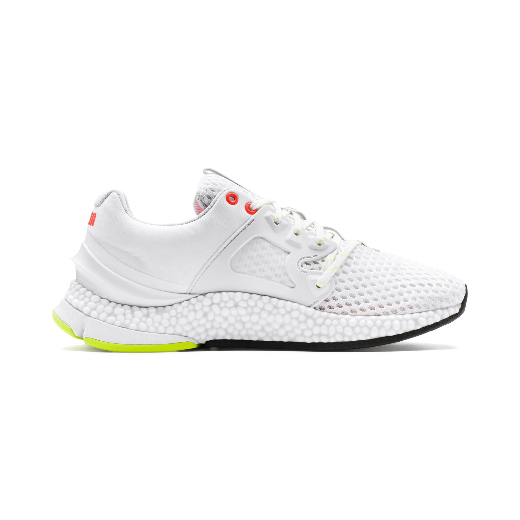 Thumbnail 6 of HYBRID Sky Men's Running Shoes, White-Black-Nrgy Red, medium