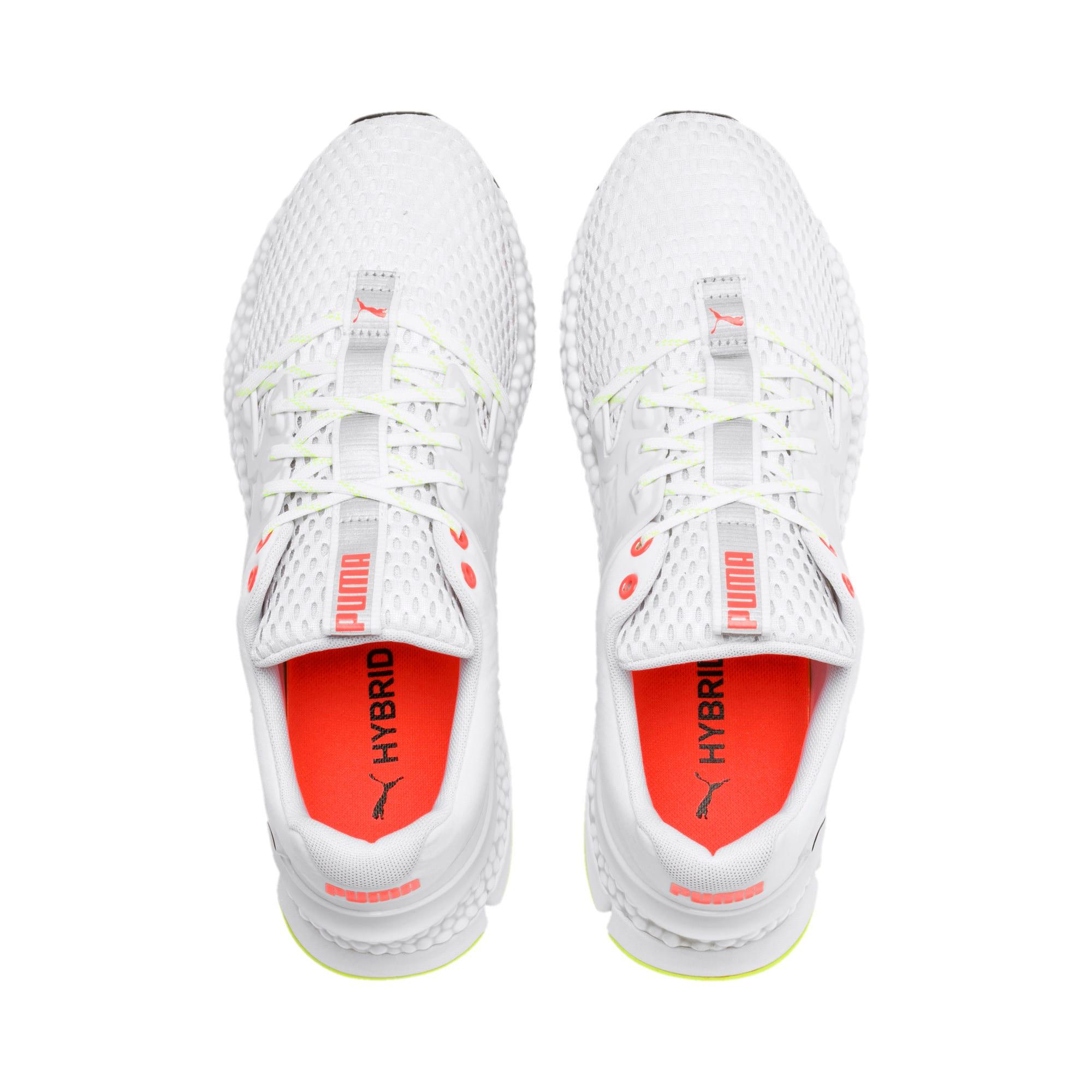 Thumbnail 7 of HYBRID Sky Men's Running Shoes, White-Black-Nrgy Red, medium