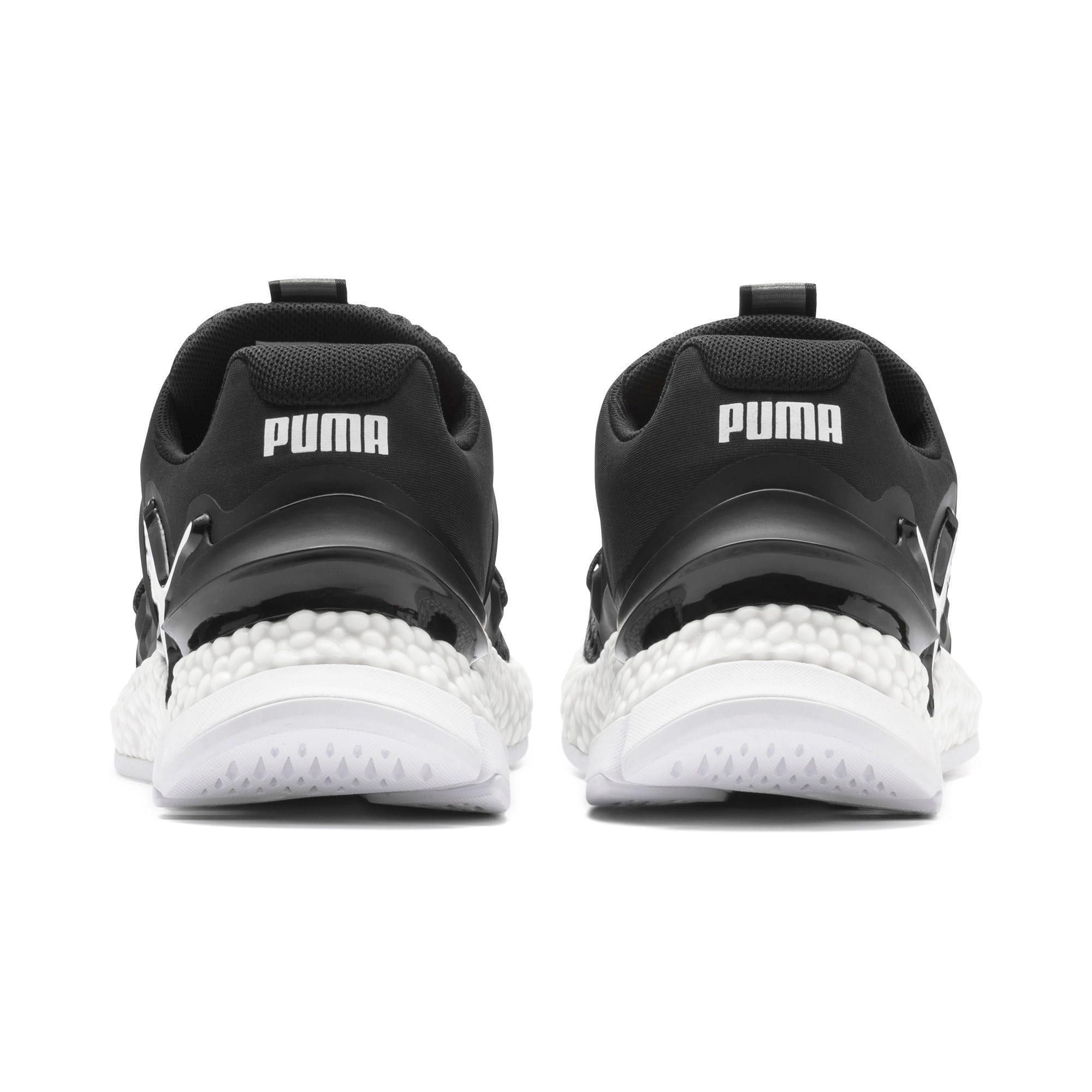 Thumbnail 4 of HYBRID Sky Women's Running Shoes, Puma Black-Puma White, medium