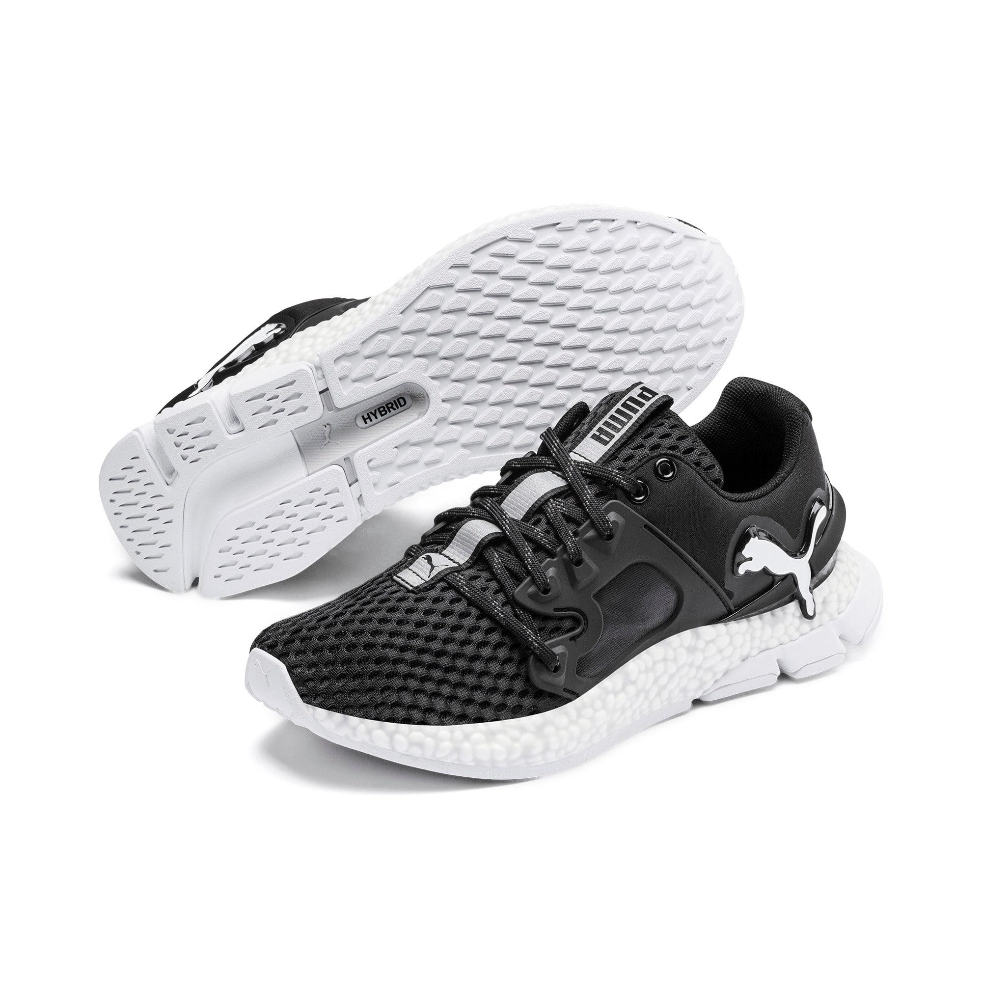 Thumbnail 3 of HYBRID Sky Women's Running Shoes, Puma Black-Puma White, medium