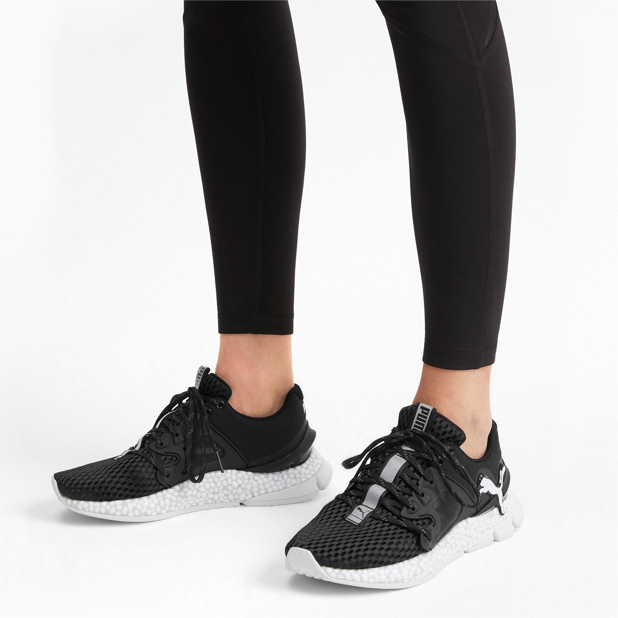 Thumbnail 2 of HYBRID Sky Women's Running Shoes, Puma Black-Puma White, medium