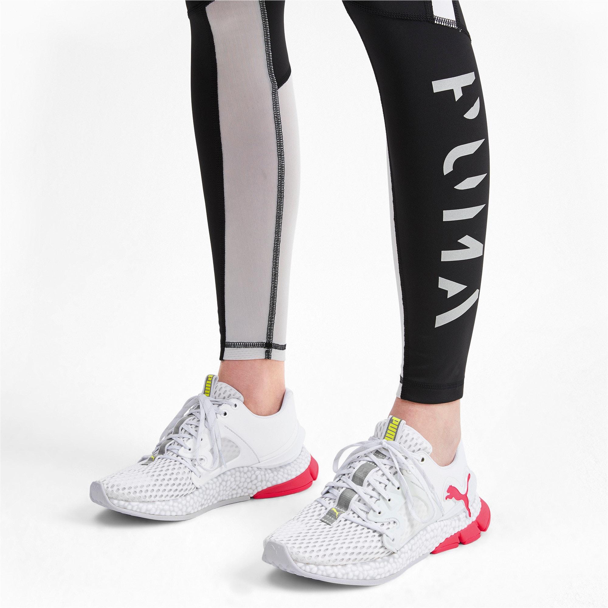 Thumbnail 3 of HYBRID Sky Women's Running Shoes, Wh-Pink Alert-Yellow Alert, medium-IND