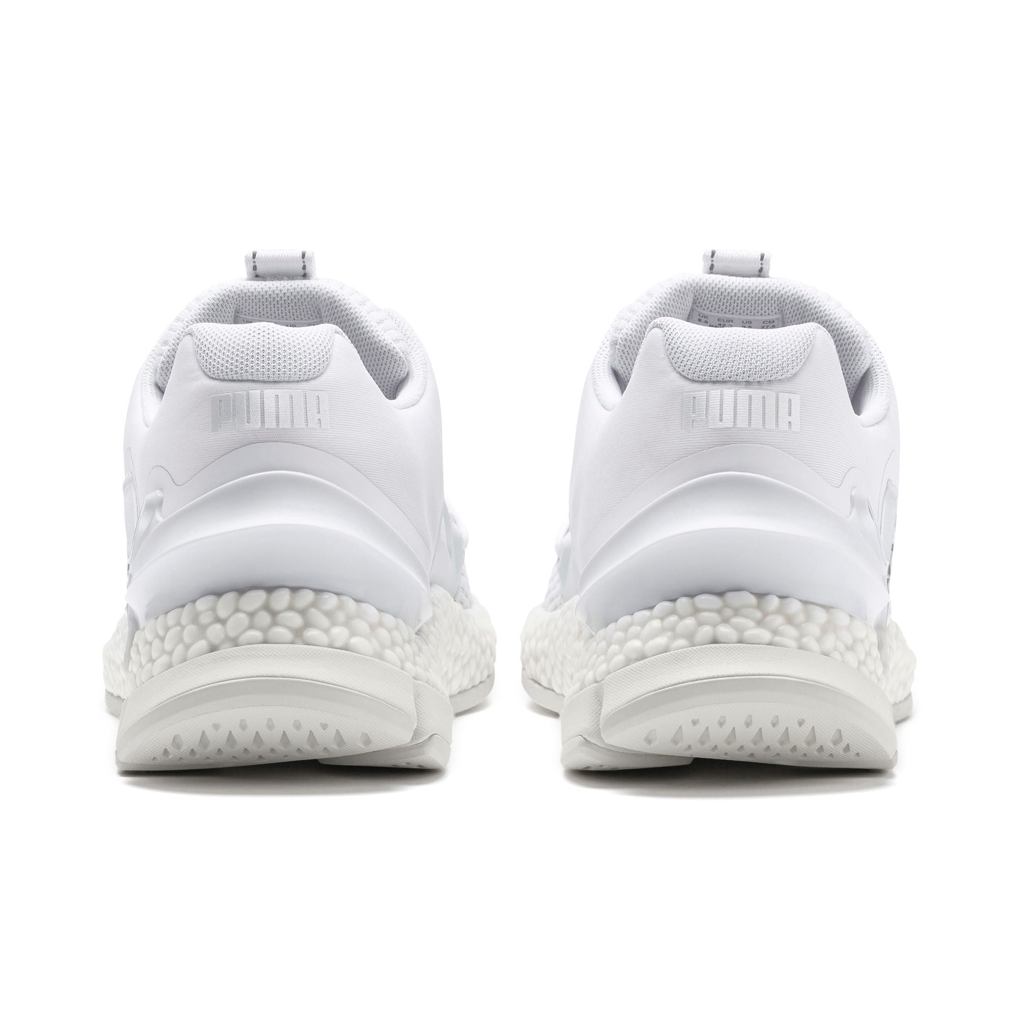 Thumbnail 4 of HYBRID Sky Lights Men's Running Shoes, Puma White-Puma Silver, medium