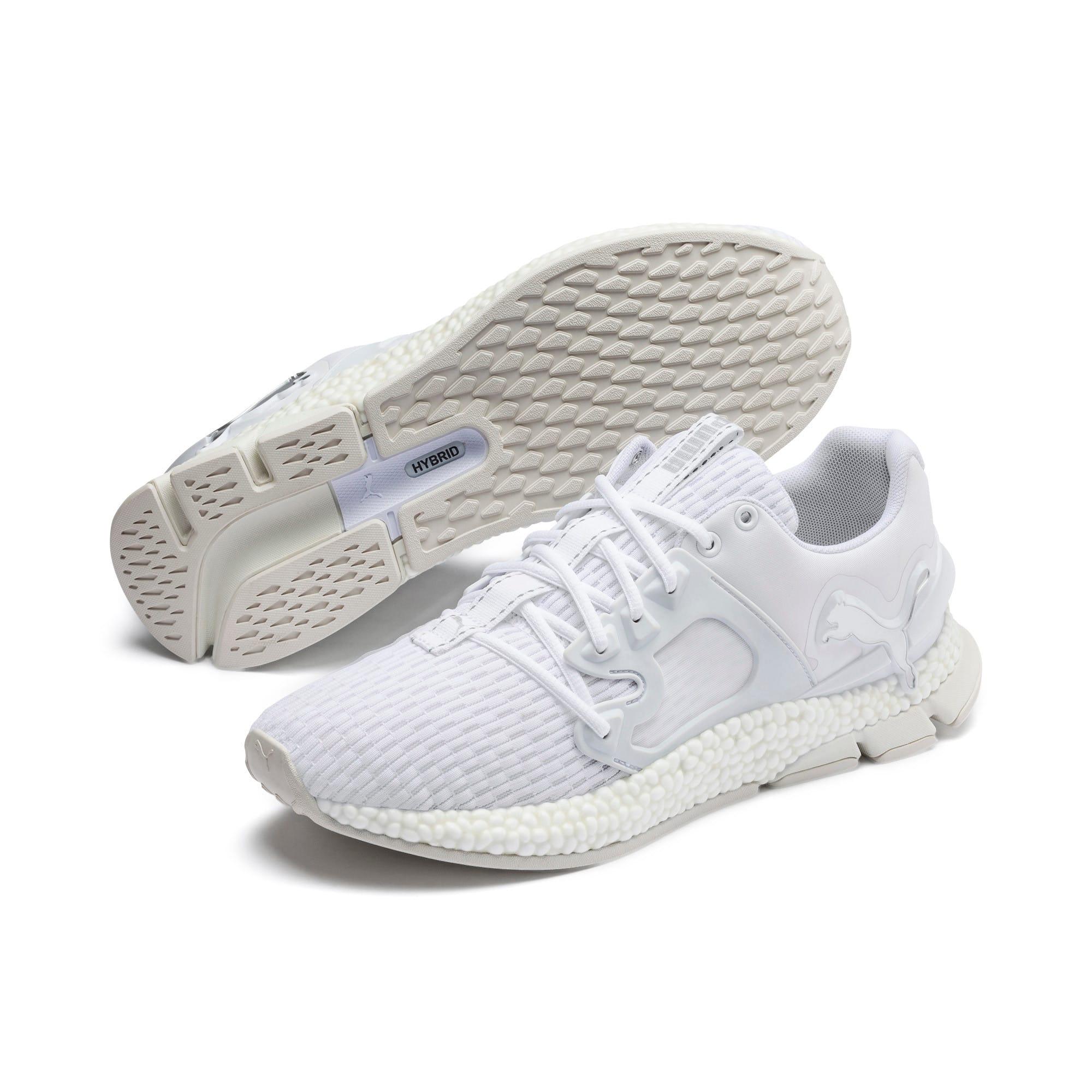 Thumbnail 3 of HYBRID Sky Lights Men's Running Shoes, Puma White-Puma Silver, medium