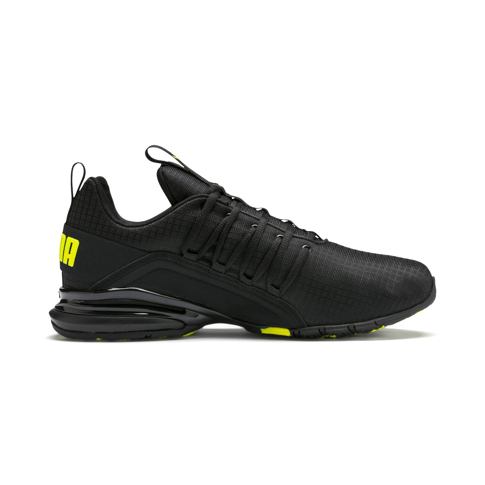 Miniatura 6 de Zapatos de entrenamiento Axelion Rip para hombre, Puma Black-Yellow Alert, mediano