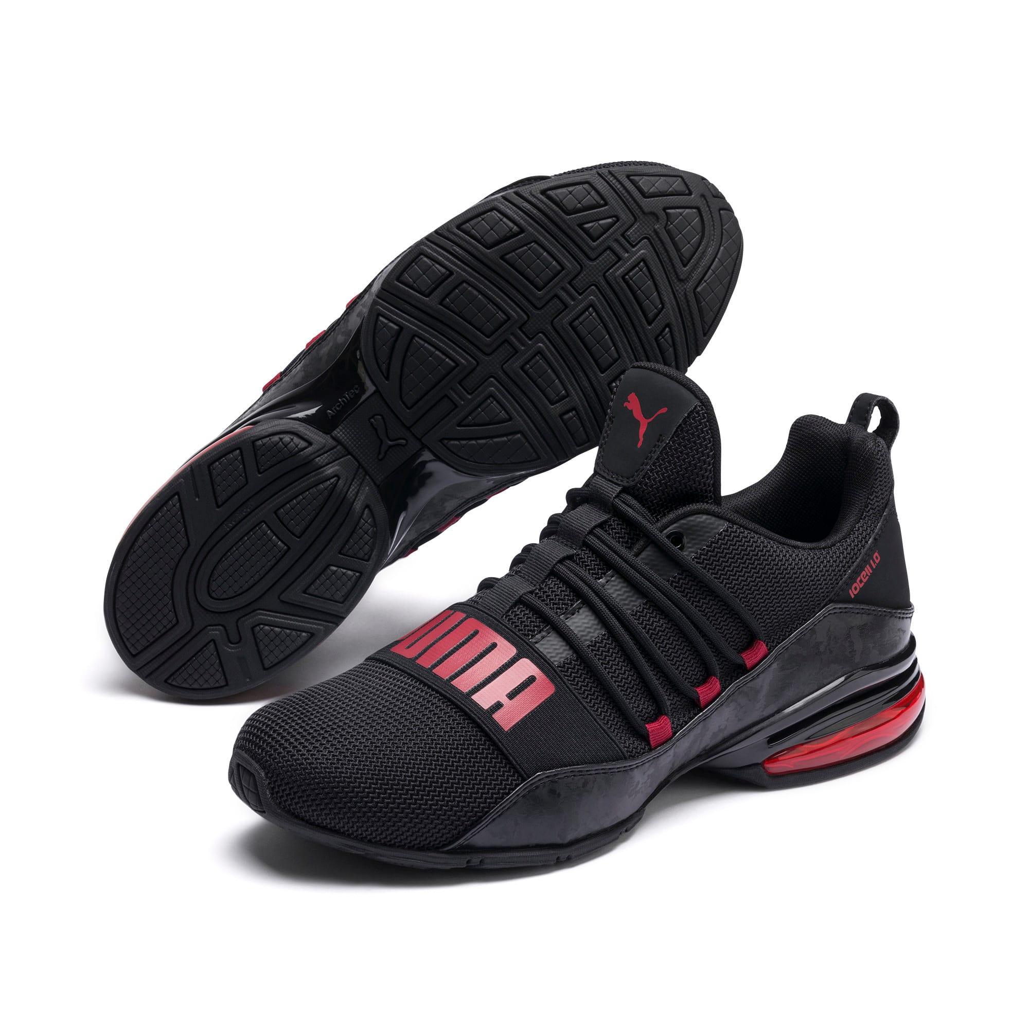 Miniatura 2 de Zapatos de entrenamiento CELL Regulate Camo para hombre, Puma Black-Rhubarb, mediano