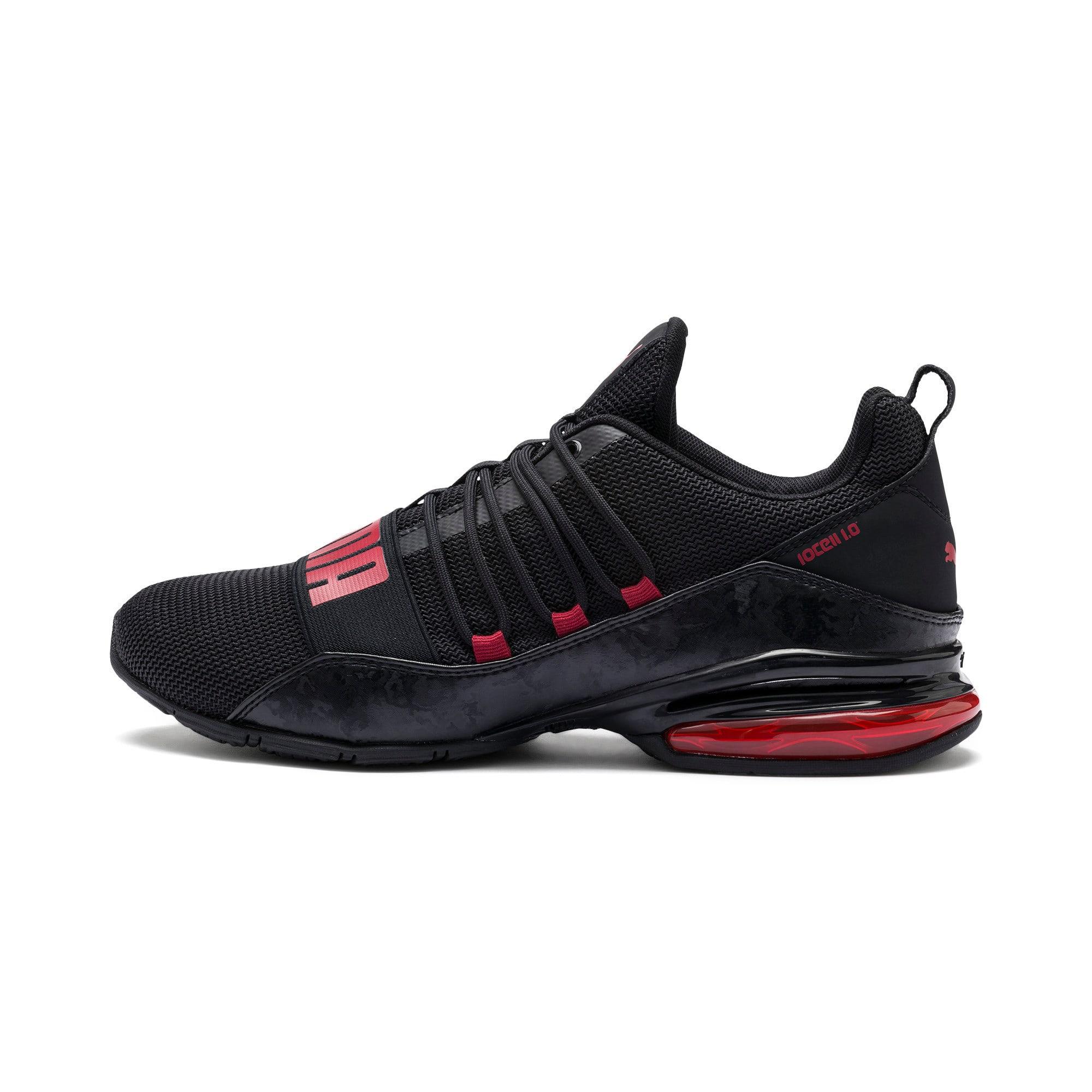 Miniatura 1 de Zapatos de entrenamiento CELL Regulate Camo para hombre, Puma Black-Rhubarb, mediano