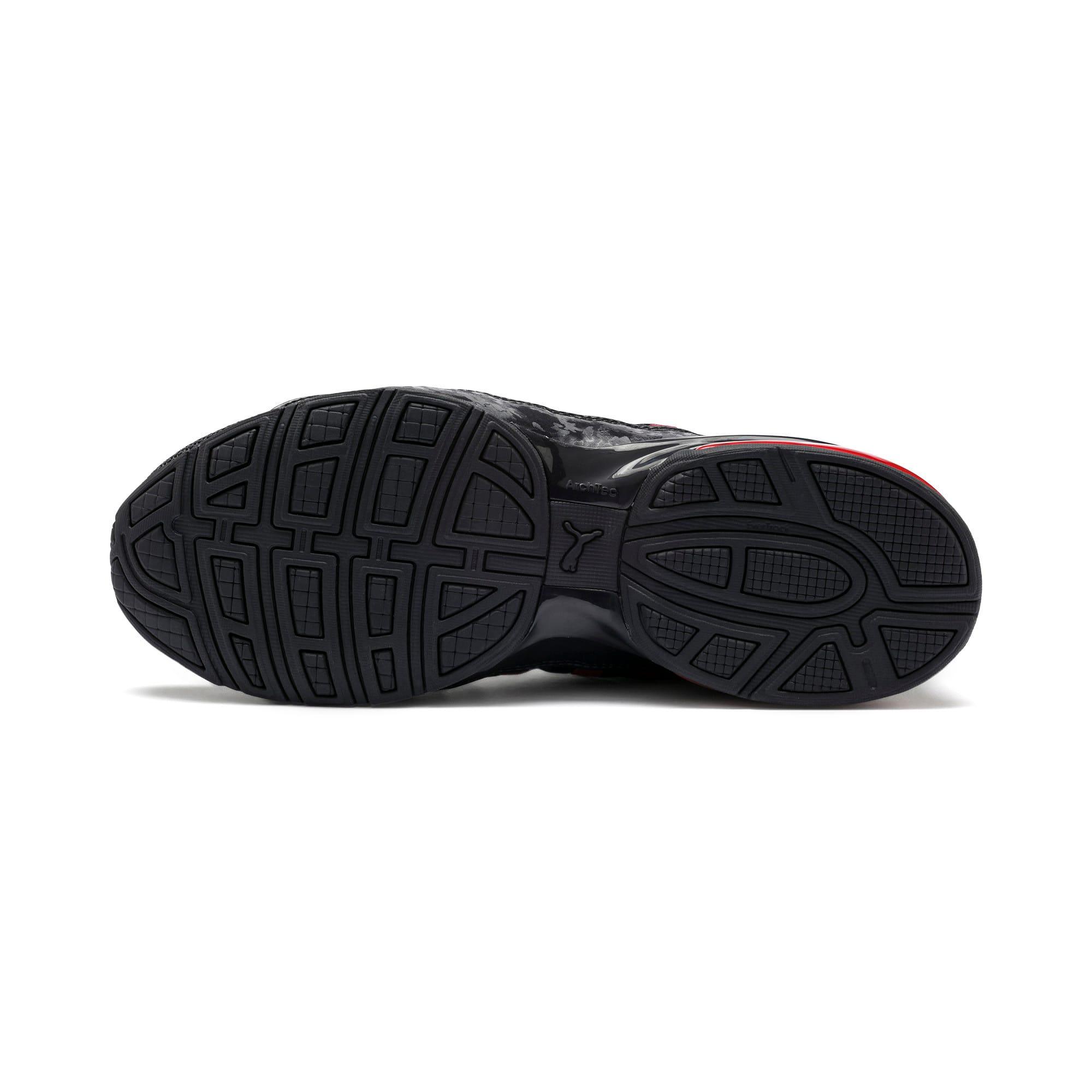 Miniatura 5 de Zapatos de entrenamiento CELL Regulate Camo para hombre, Puma Black-Rhubarb, mediano