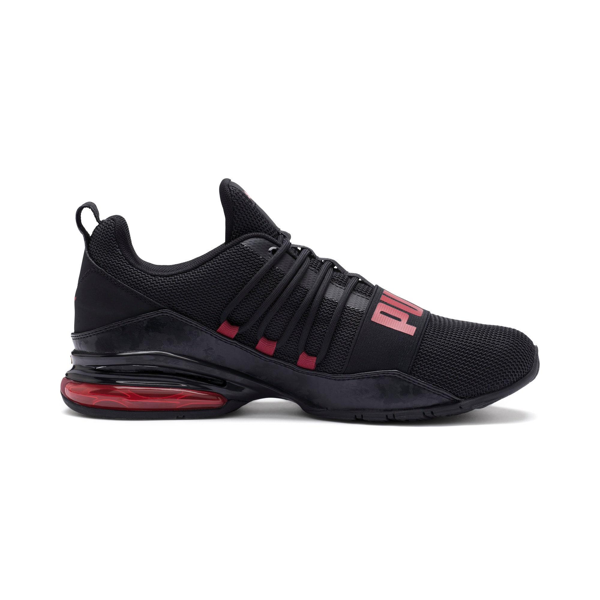 Miniatura 6 de Zapatos de entrenamiento CELL Regulate Camo para hombre, Puma Black-Rhubarb, mediano