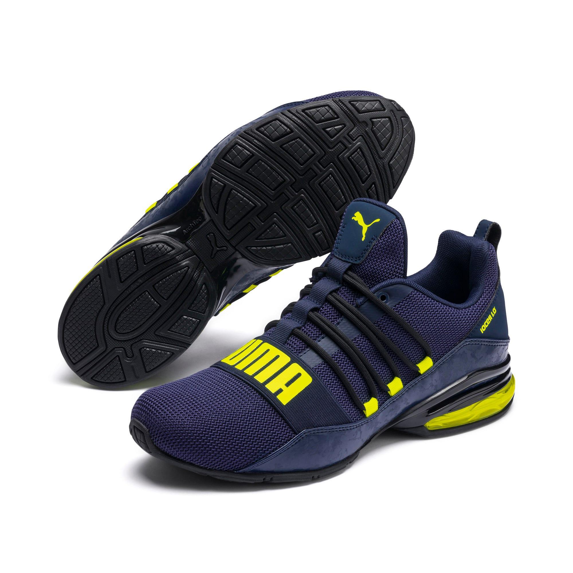 Thumbnail 3 of CELL Regulate Camo Men's Training Shoes, Peacoat-Yellow Alert, medium