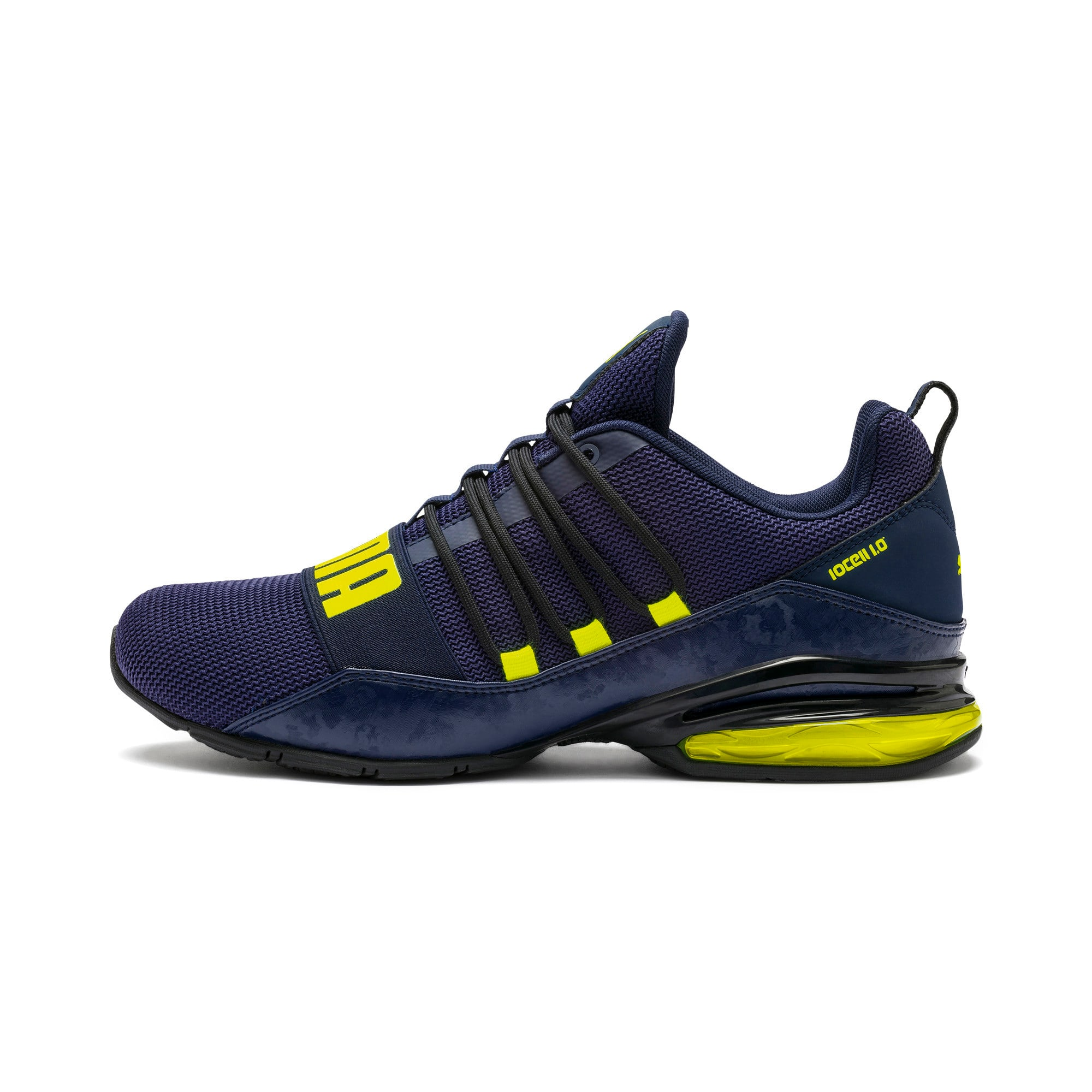Thumbnail 1 of CELL Regulate Camo Men's Training Shoes, Peacoat-Yellow Alert, medium