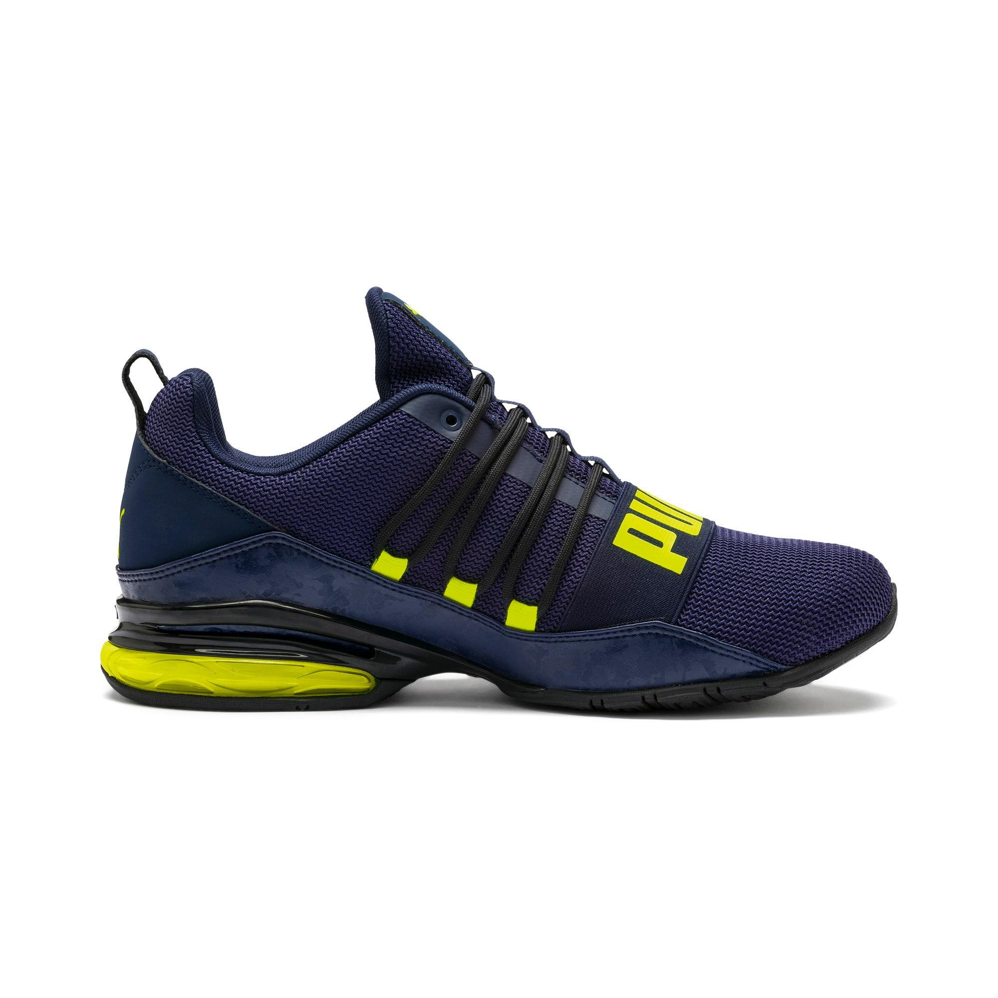 Thumbnail 6 of CELL Regulate Camo Men's Training Shoes, Peacoat-Yellow Alert, medium