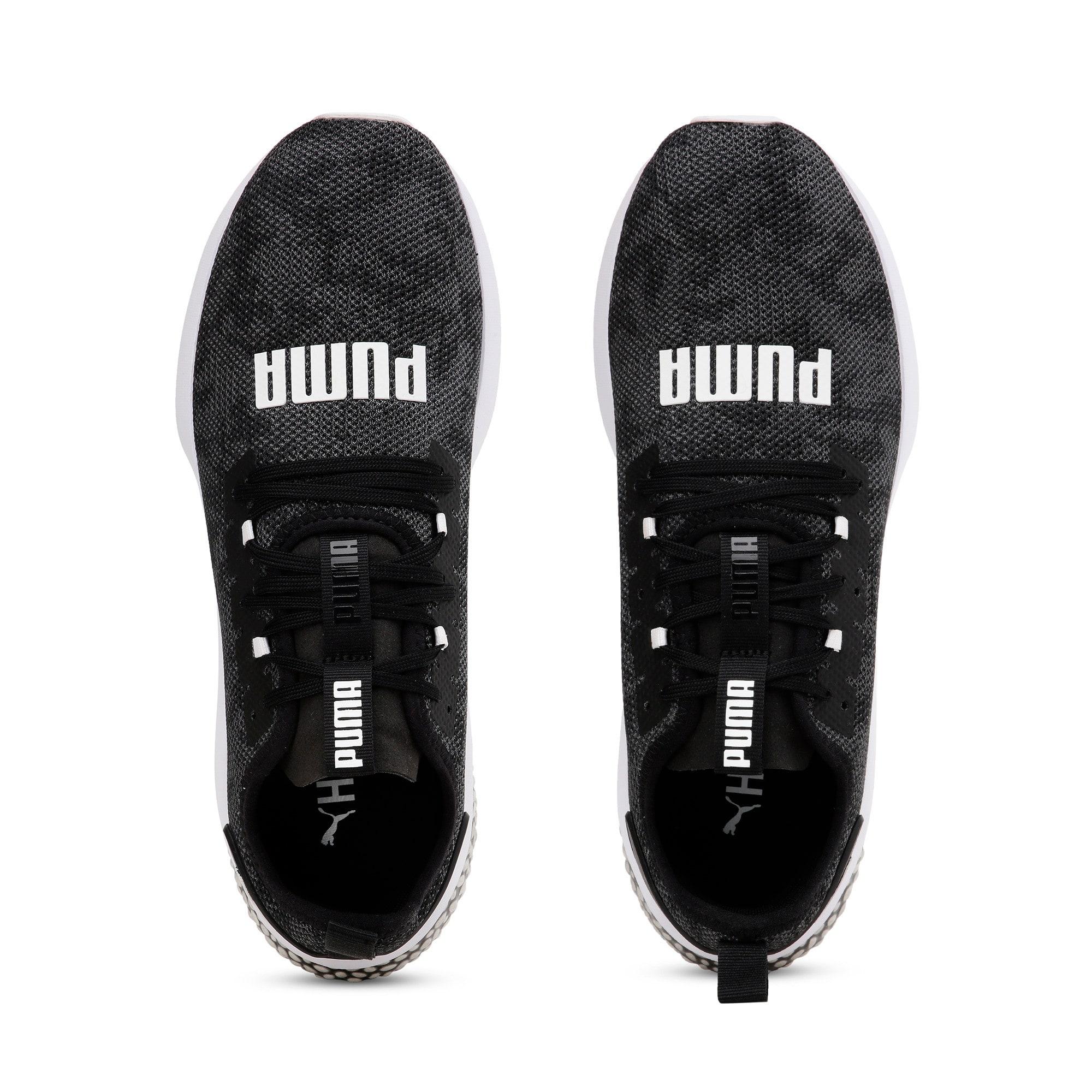 Thumbnail 8 of Hybrid NX Camo Men's Running Sneakers, Puma Black-Puma White, medium-IND