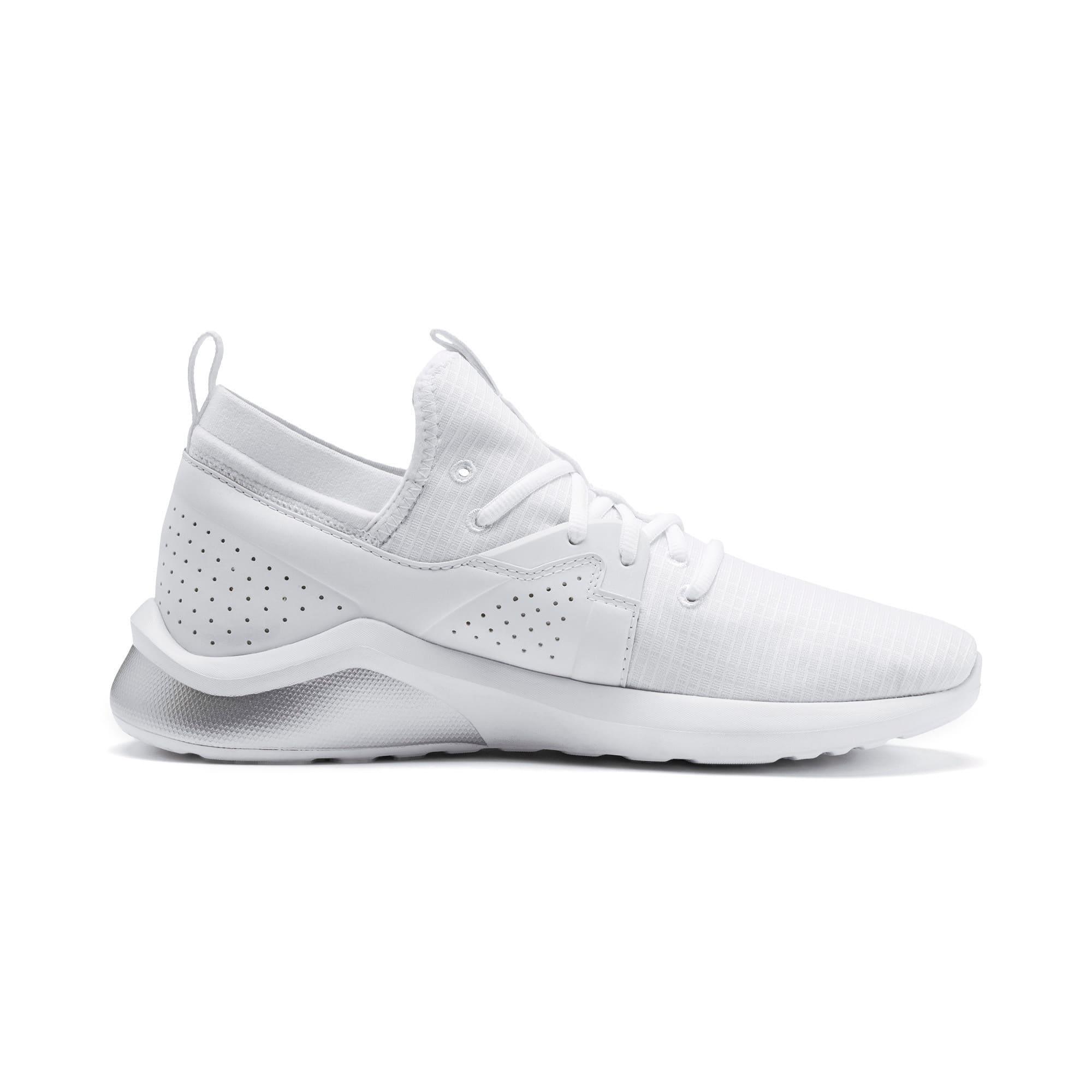 Thumbnail 5 of Emergence Lights Men's Running Shoes, Puma White-Puma Silver, medium-IND