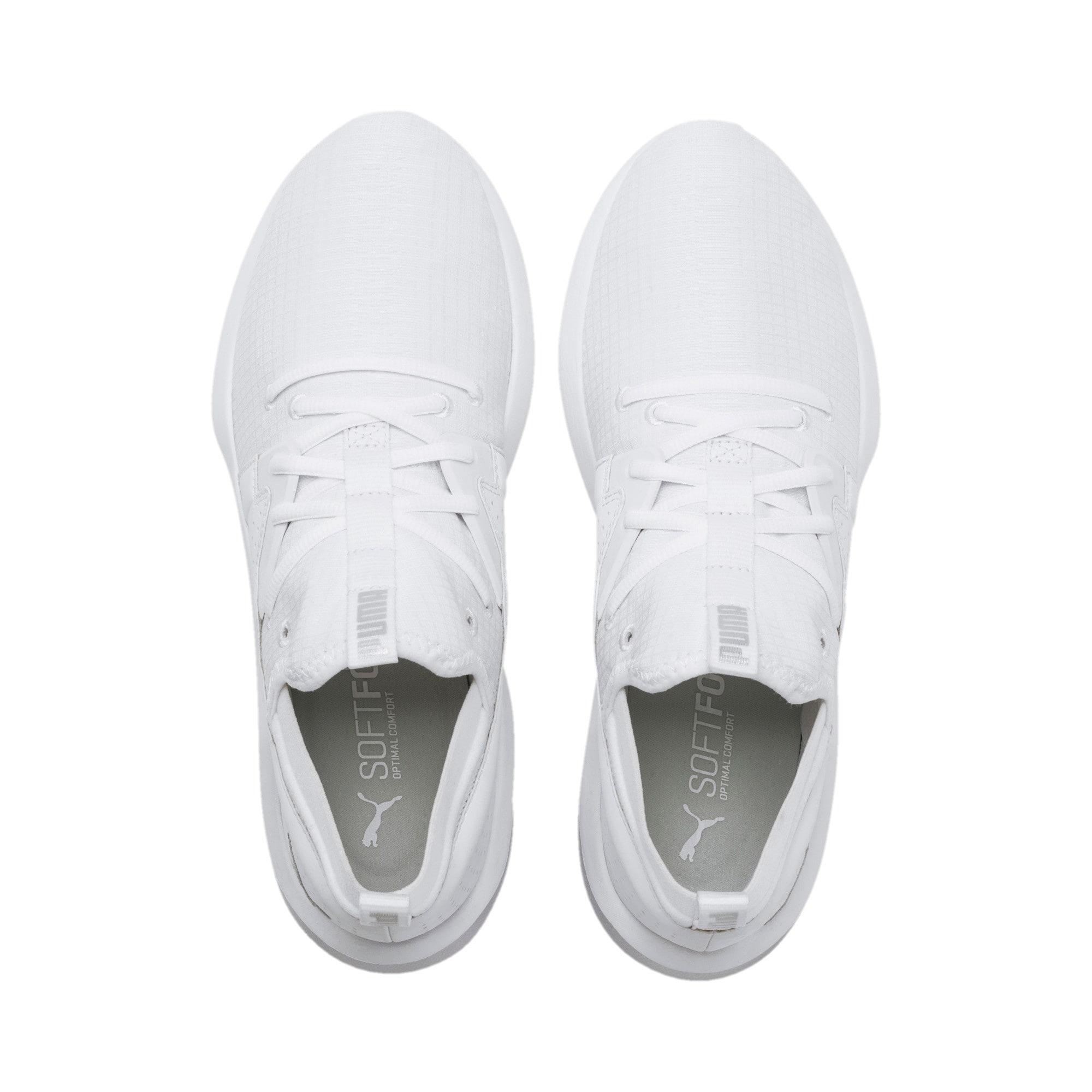 Thumbnail 4 of Emergence Lights Men's Running Shoes, Puma White-Puma Silver, medium-IND