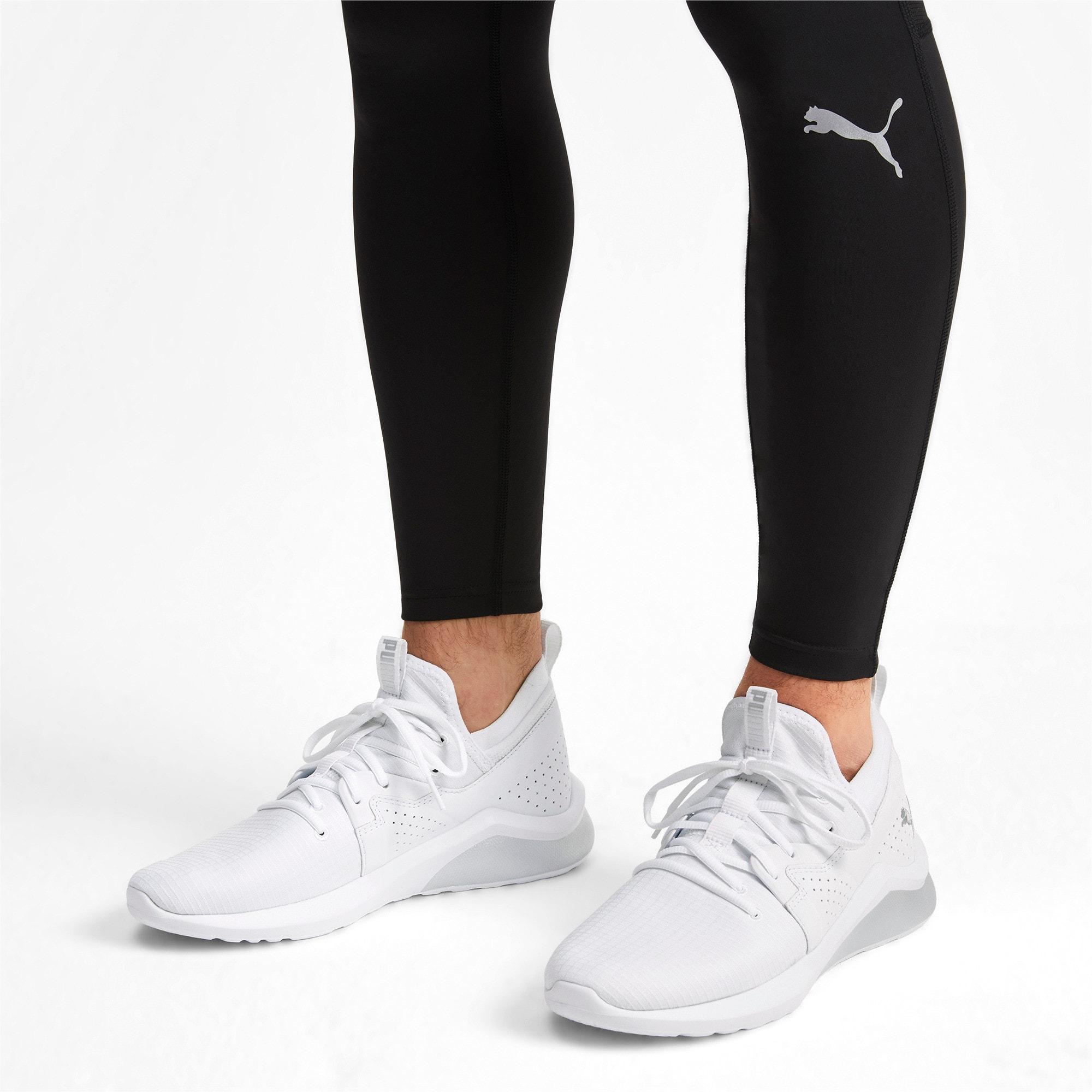 Thumbnail 2 of Emergence Lights Men's Running Shoes, Puma White-Puma Silver, medium-IND